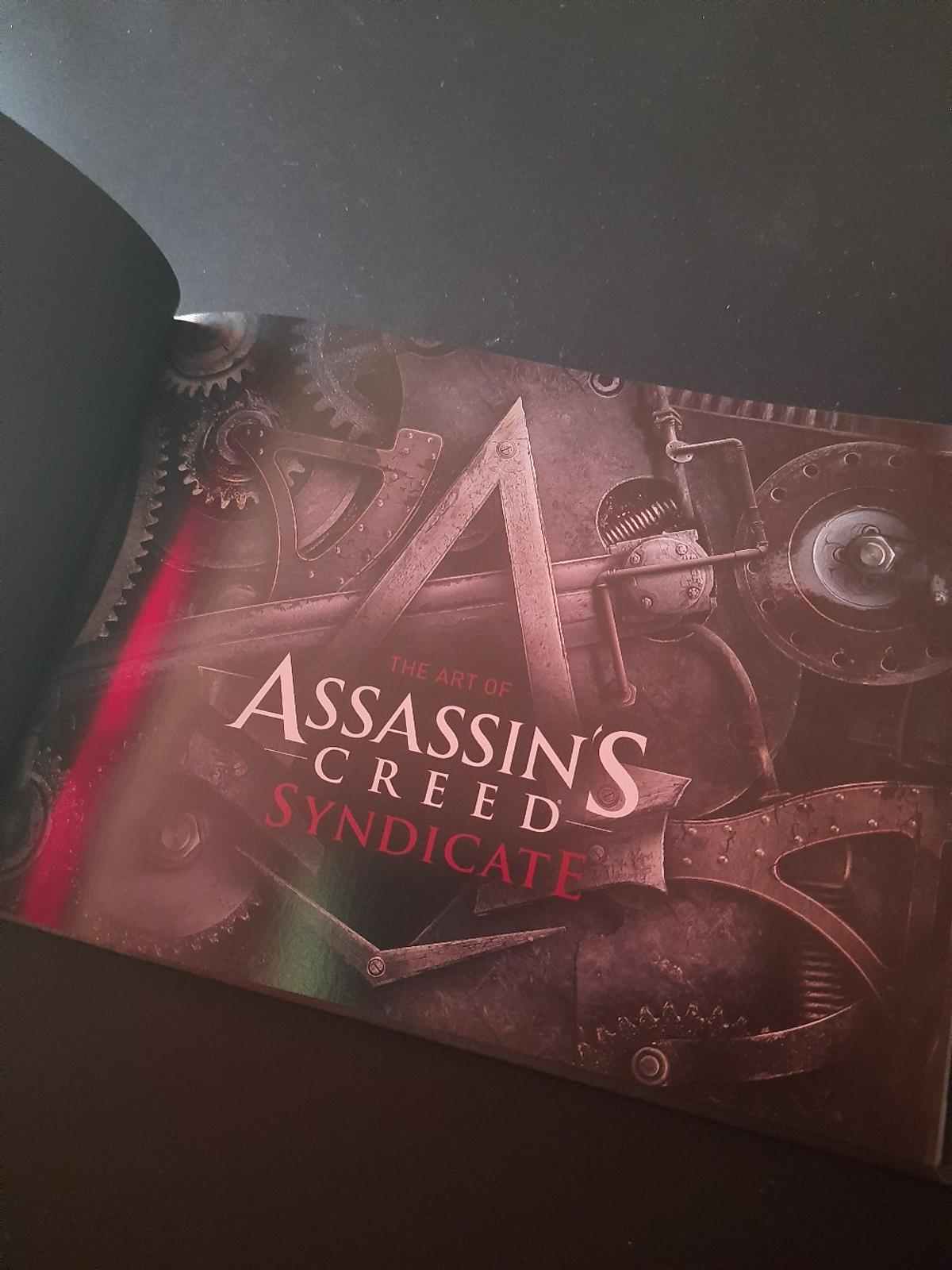 Brand new and sealed Assassins Creed Syndycate Special Edition on Playstation 4 - PS4 Includes DLC code and exclusive concept art book Collection or Post