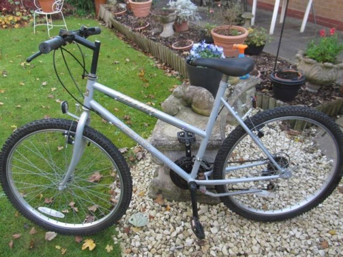 Silver atsra shooting star bicycle buyer collects Wavertree area or can deliver depending on location