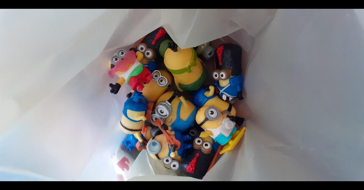 20 small figures of minions. collection only bootle or can post at buyers expense.