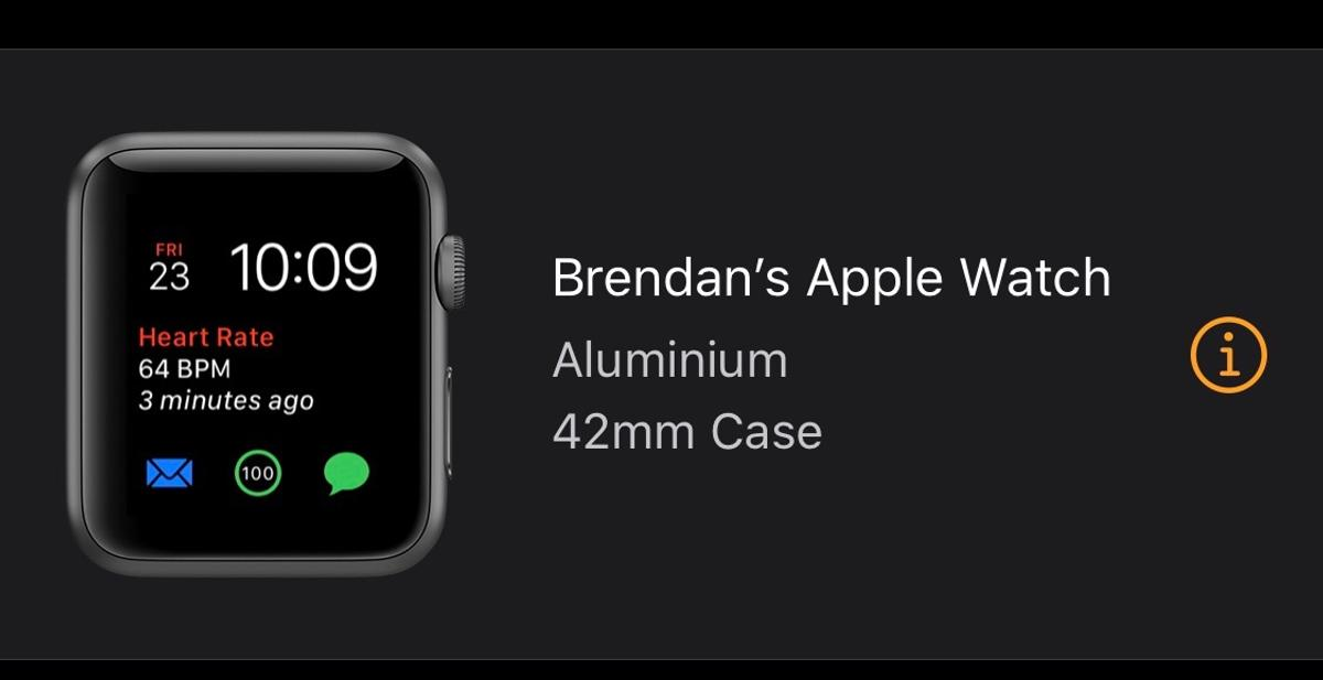 Selling my Apple Watch Series 3 42mm GPS, very good condition, screen has some very light markings, but they are to be expected, can only see if you switch off and look very closely.  Comes with original box, charger and the colour is space gray.  I'm selling because I've just been bought the series 5.