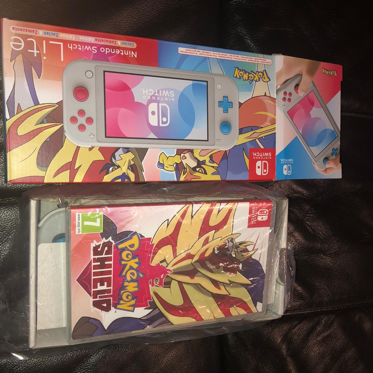 Like brand new with no signs of wear or tear at all, only been used a once or twice, perfect condition comes with box and packaging including manual and charger, with Pokemon Shield, delivery via courier or collection from Chester