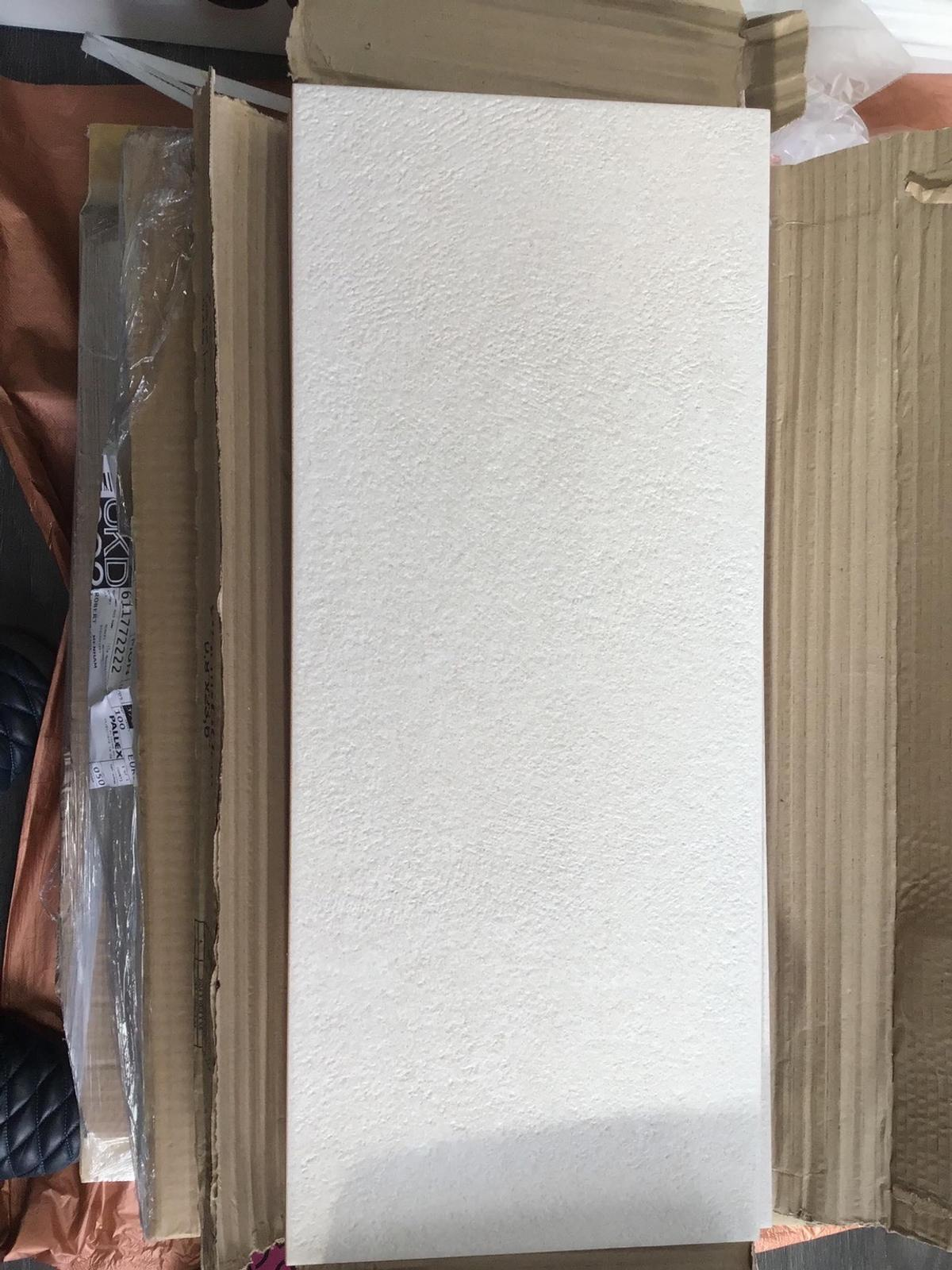 Off white ceramic tiles 6 boxes never being used bought too many
