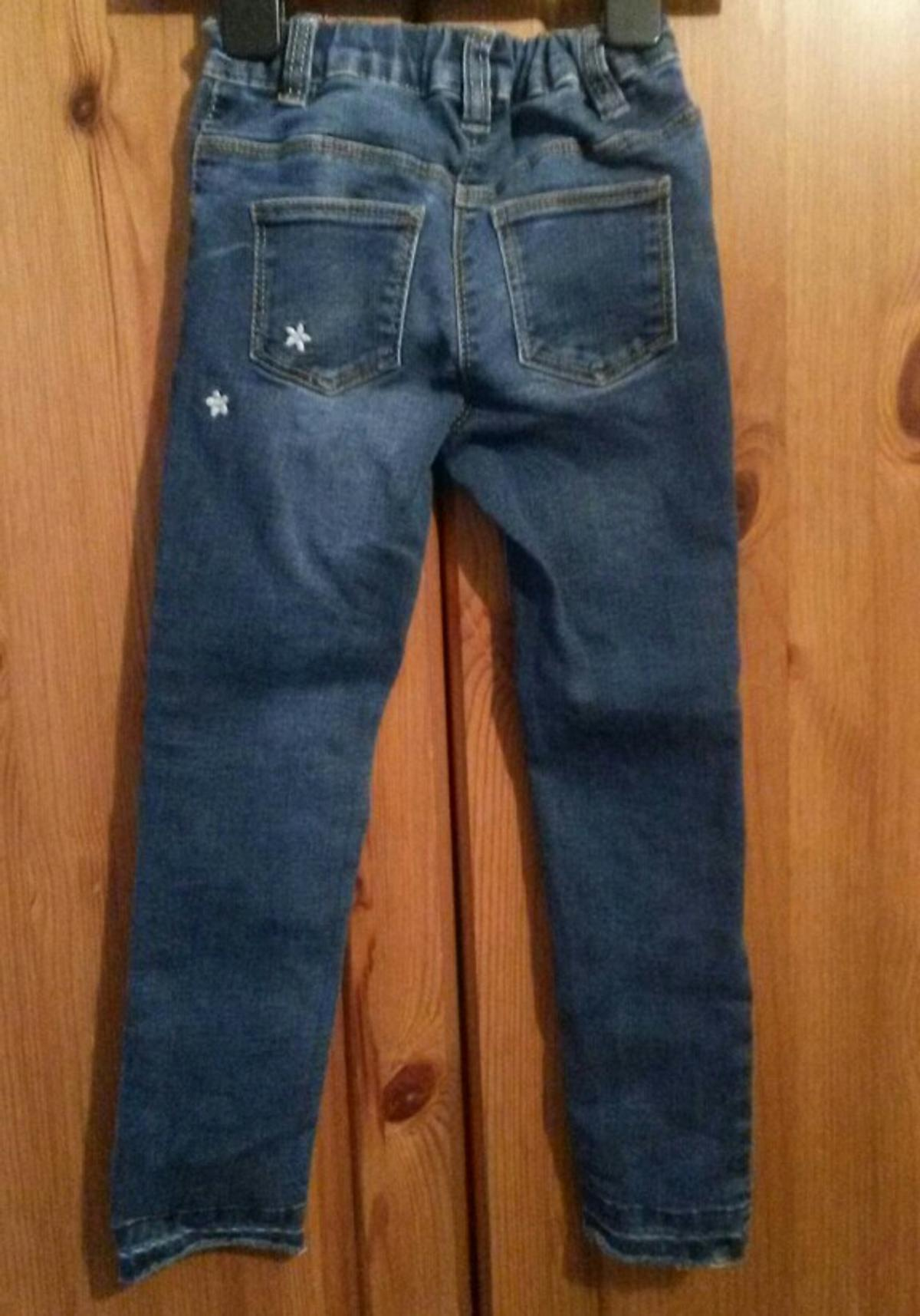 Stretch elasticated waist jeans from next size 4/5 g.c pontefract area