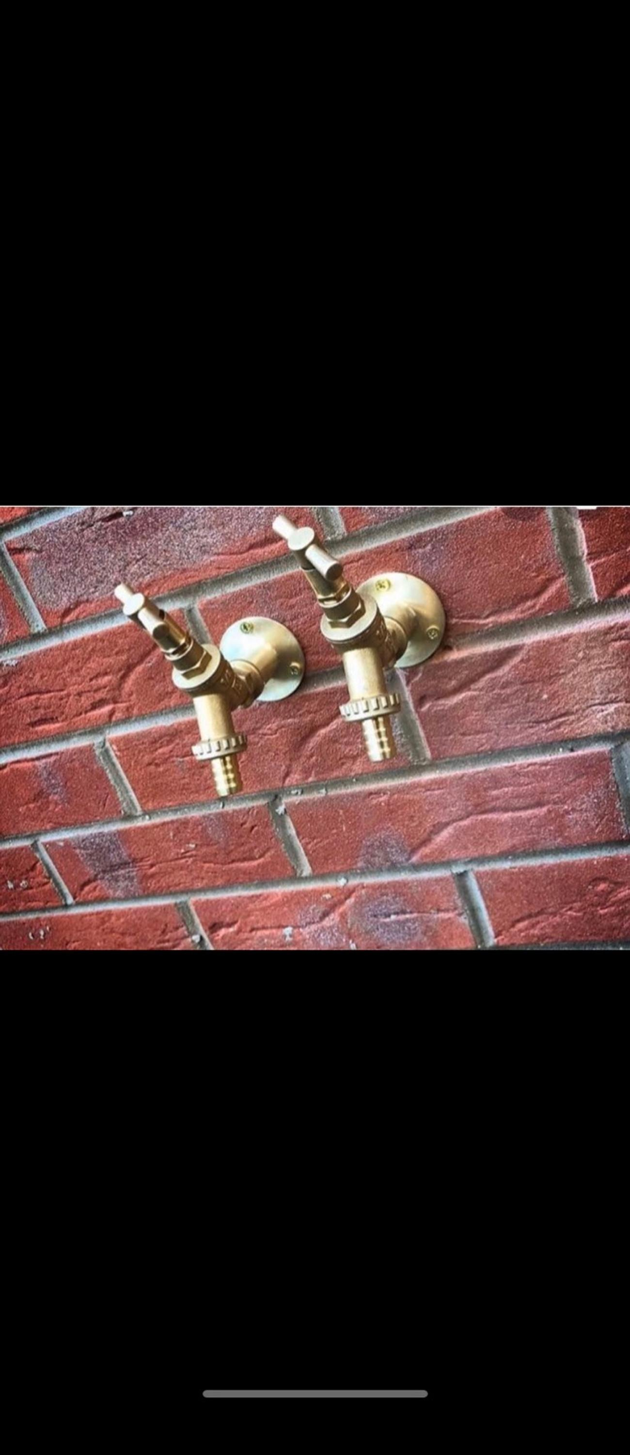 Outside taps and any other plumbing work. Supplied&fitted tap cold £50 Supplied&fitted Tao hot £50 Supplied fitted tap hot and cold, double tap £100 ——————————- (If you have your own taps) Cold £35 Hot £35 Double £70 ——————————— Any other plumbing jobs, don't hesitate to ask..
