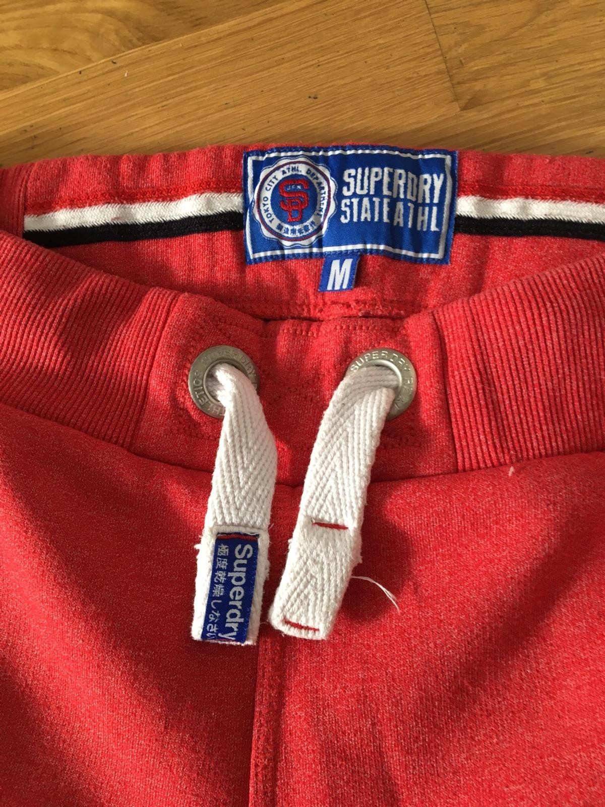 Red Superdry shorts- men size M. In excellent condition- only worn a couple of times.