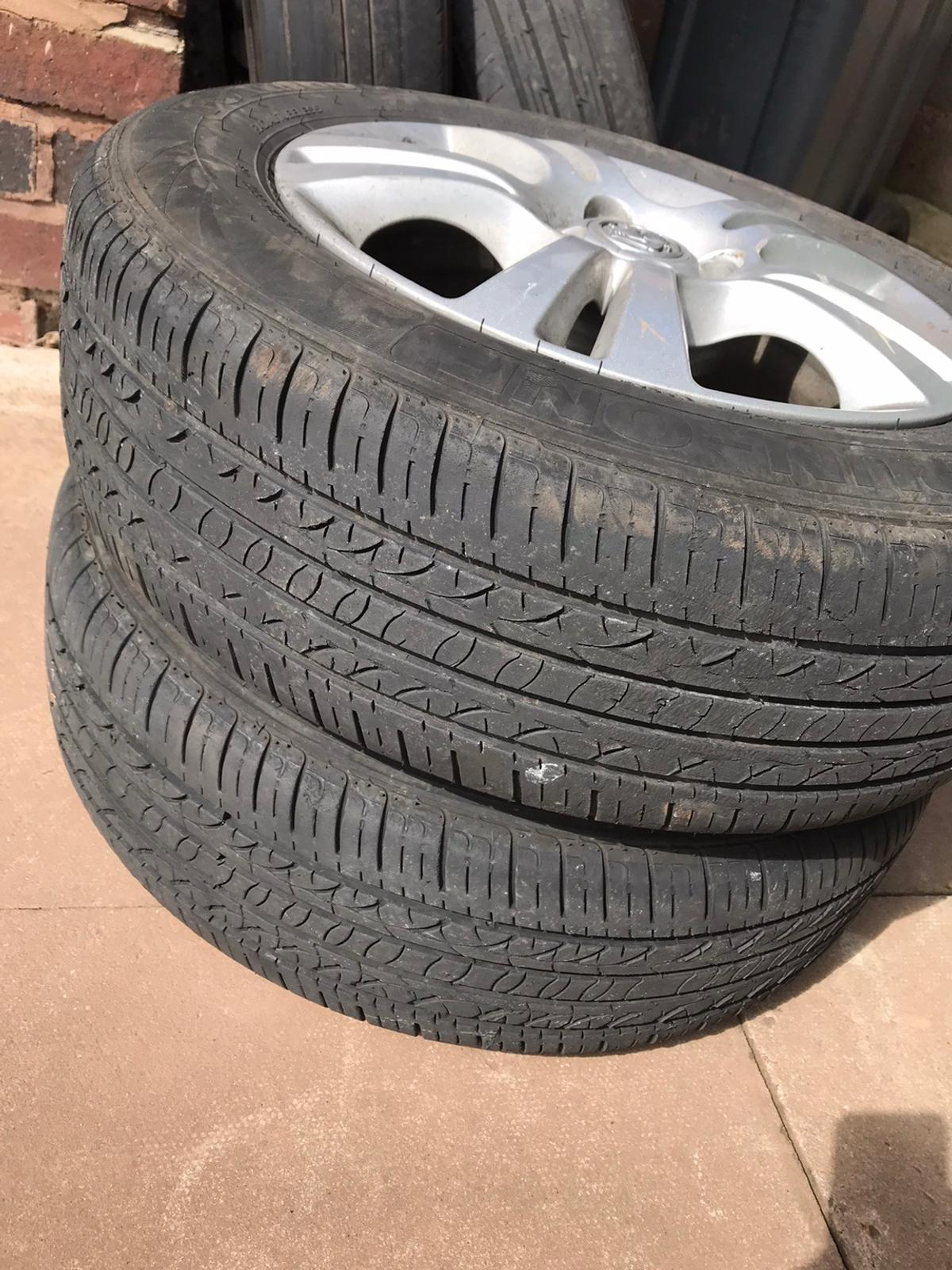 Vauxhall Corsa alloy wheels for sale all good condition do need 2 tyres