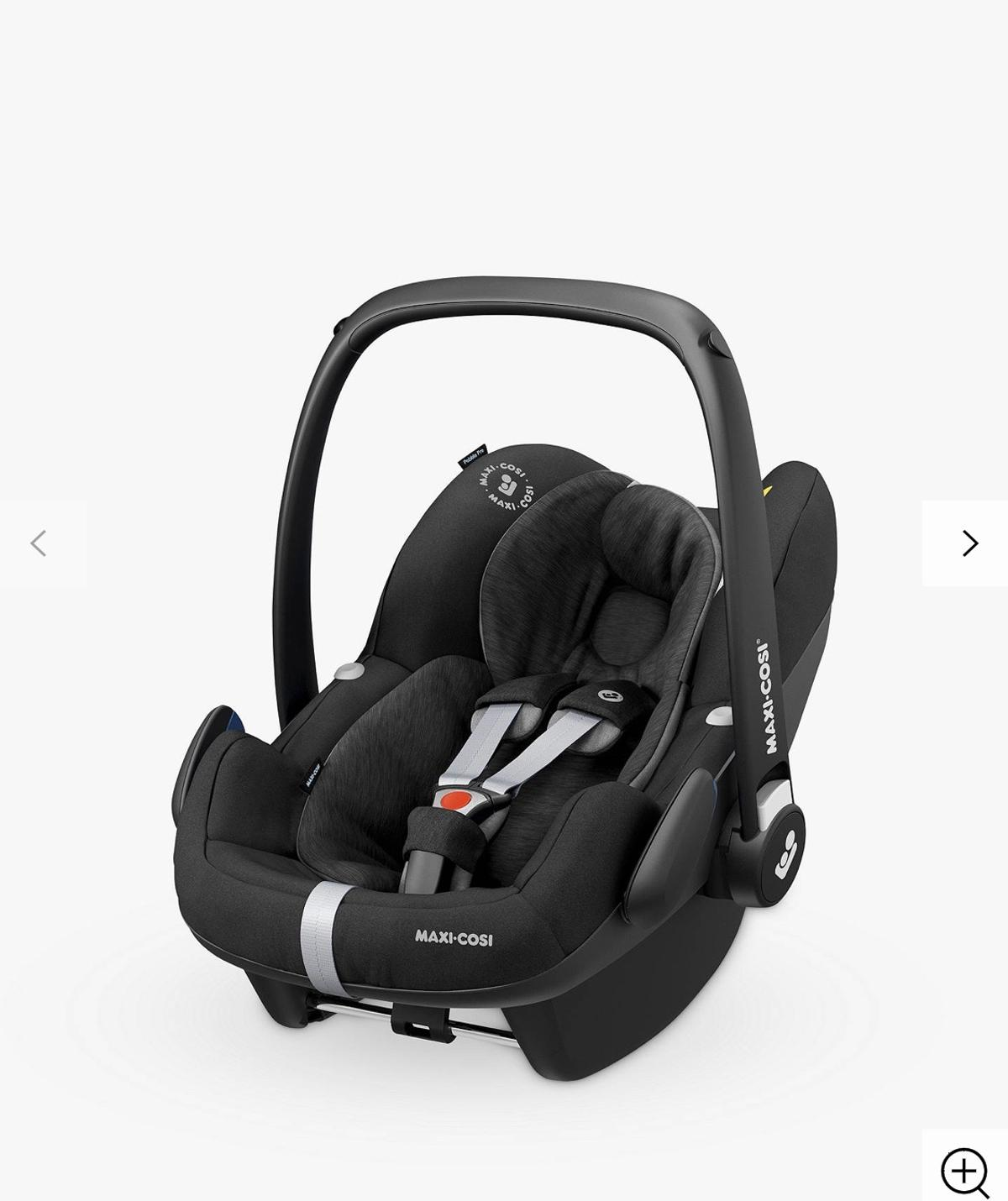 Maxi Cosi car seat for new born baby. Used but Very good condition / black color  Available: two car seat £50 each
