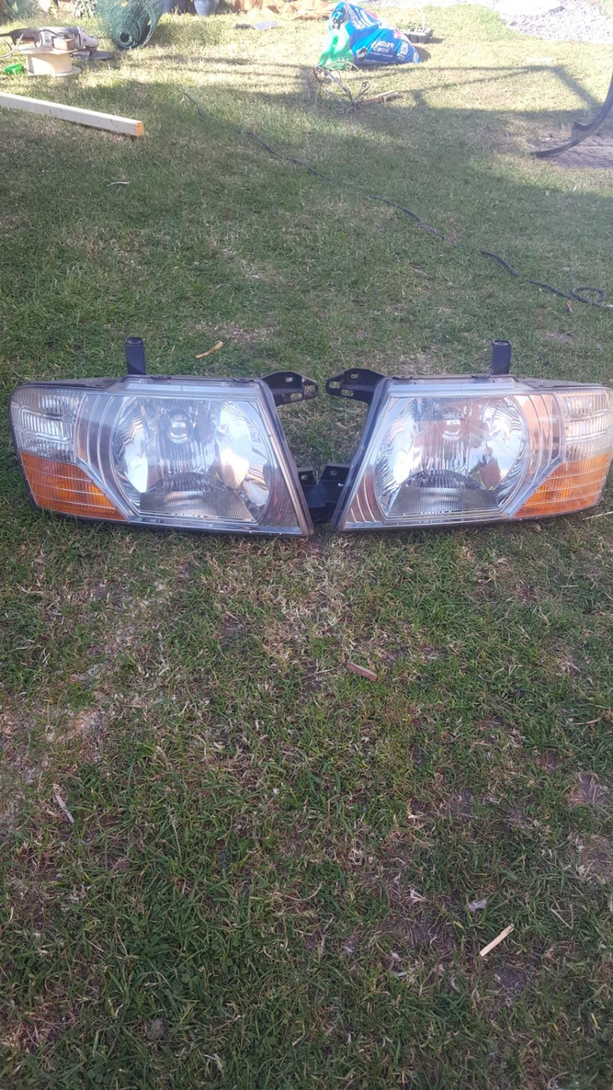 These were off my Mitsubishi elegance 2006 Perfect working order,bulbs included