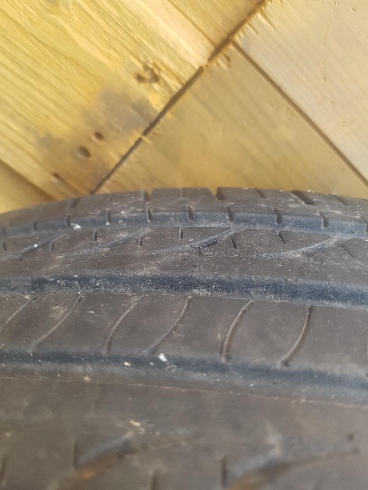 4 x steel wheels with good tyres, 165/70 /14 (see pics) came of mk2 punto 4 x 98 fitment. comes with fiat wheel trims.