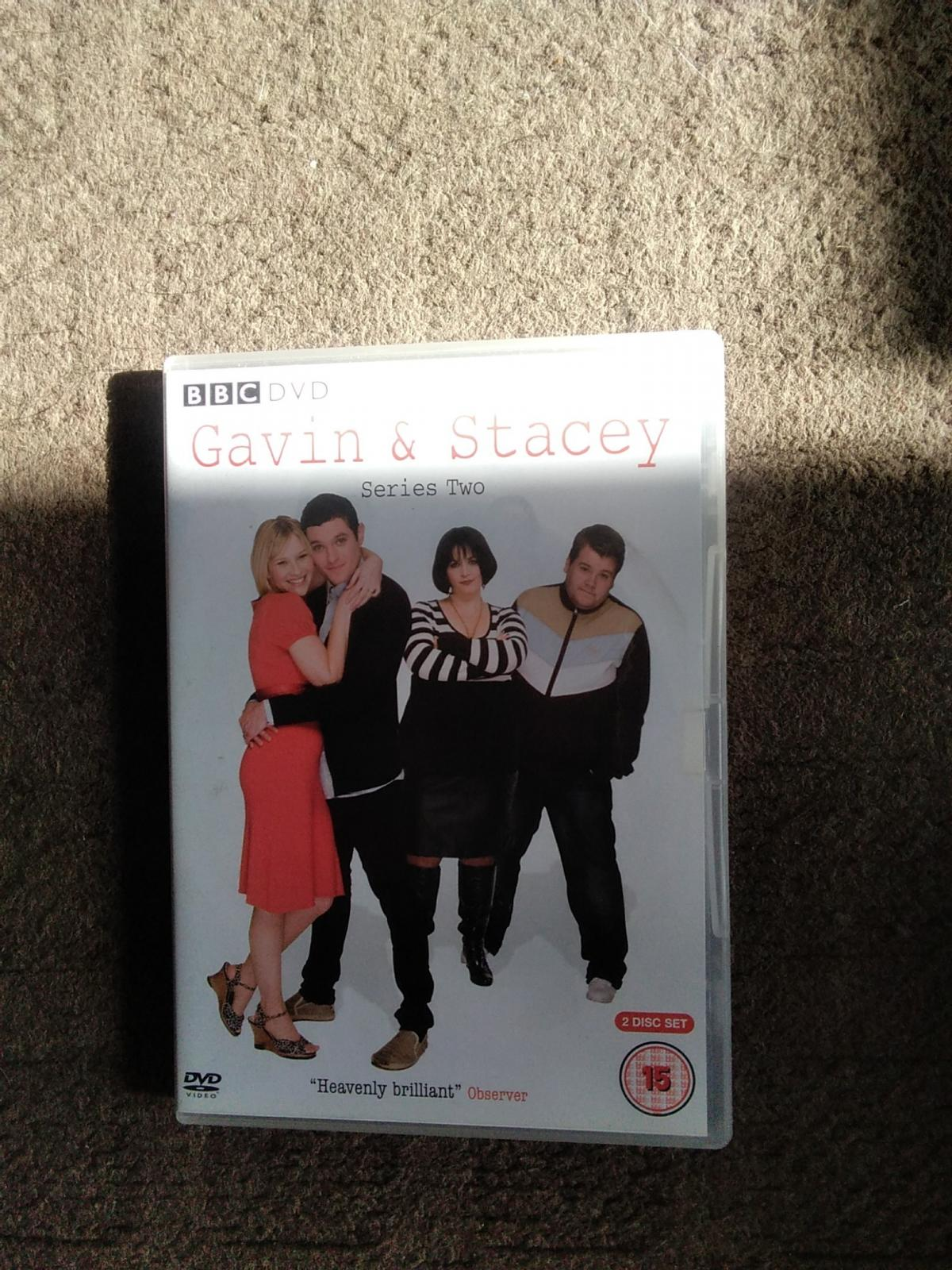 GAVIN AND STACY COMPLETE SERIES 2 BOXED SET OF 2 X DVDS PICK UP OR CAN POST TO YOU