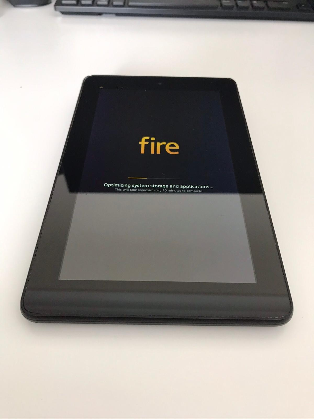 Amazon Fire 5th Generation 8G, WiFi, 7inch clear display Great, full working condition Responsive and efficient to use Sold as seen with charger Collection preferred. Local delivery for fee.