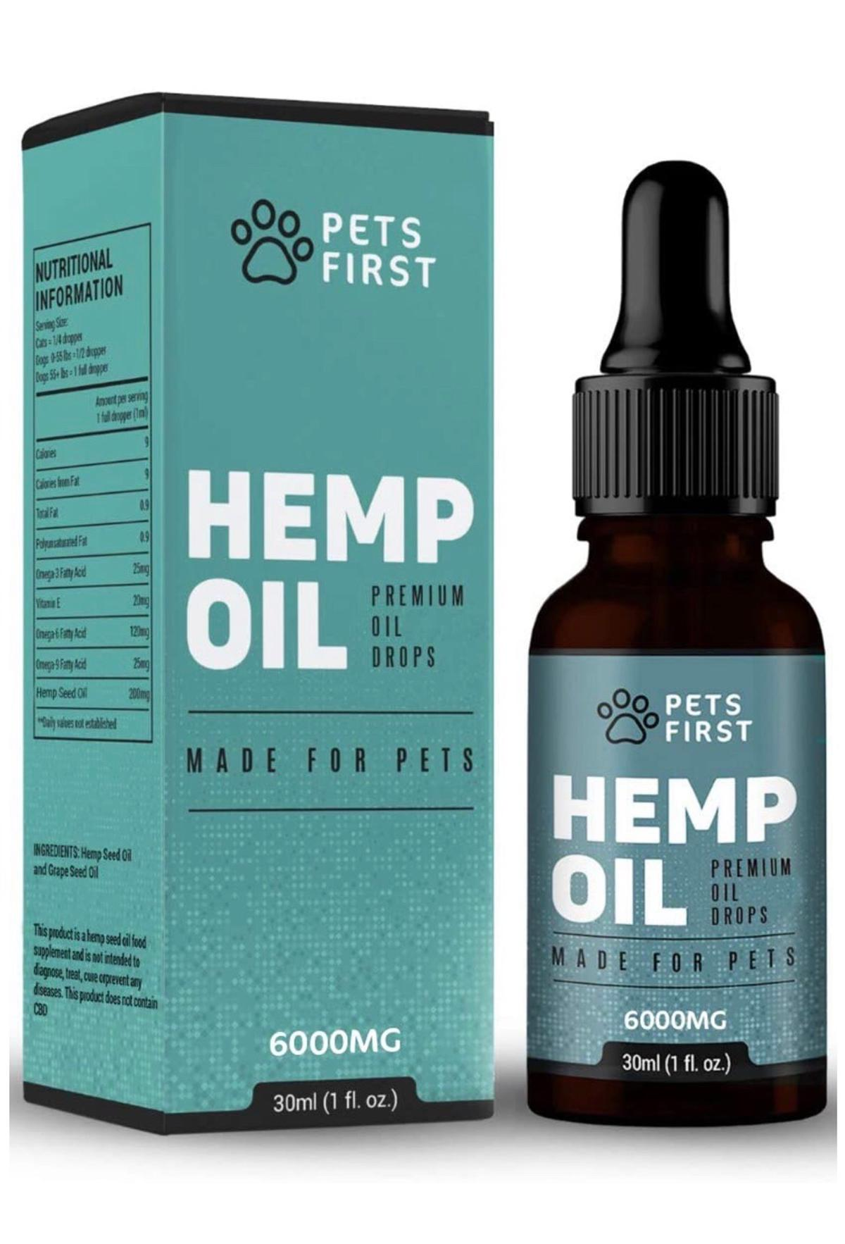 Hemp oil brand new