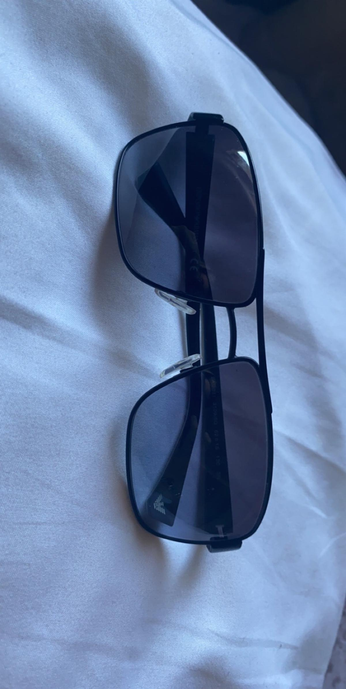 Genuine Emporio Armani Sunglasses Brought as a gift over a year ago but not been worn Comes with case too £50 Ono