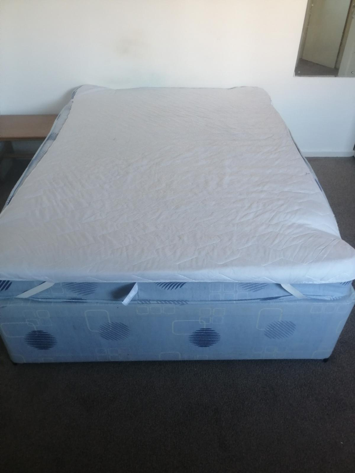 Free to collector, used double bed.