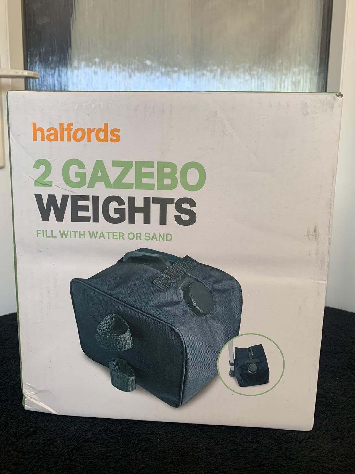 Gazebo weights Never been used  Collection only