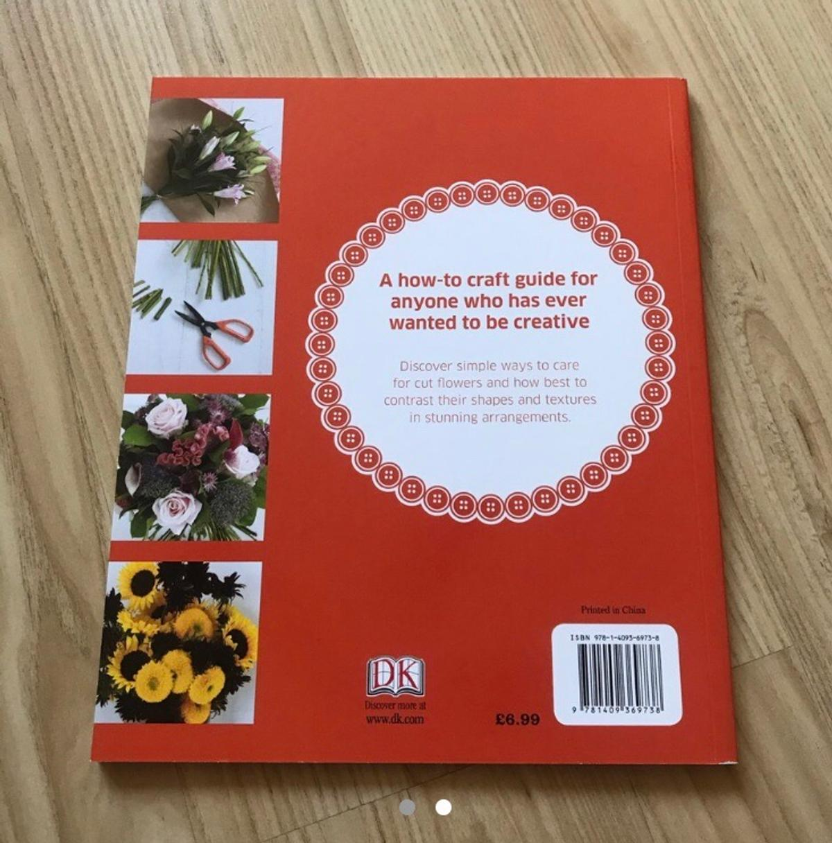 Perfect flower arranging book! Good for beginners or people who want to learn a new skill!! In perfect condition and hardly used! A great present! This is part of a set but can also be purchased speperatly. Check out my page for the rest of the books!!! MAKE OFFERS RRP £6.99
