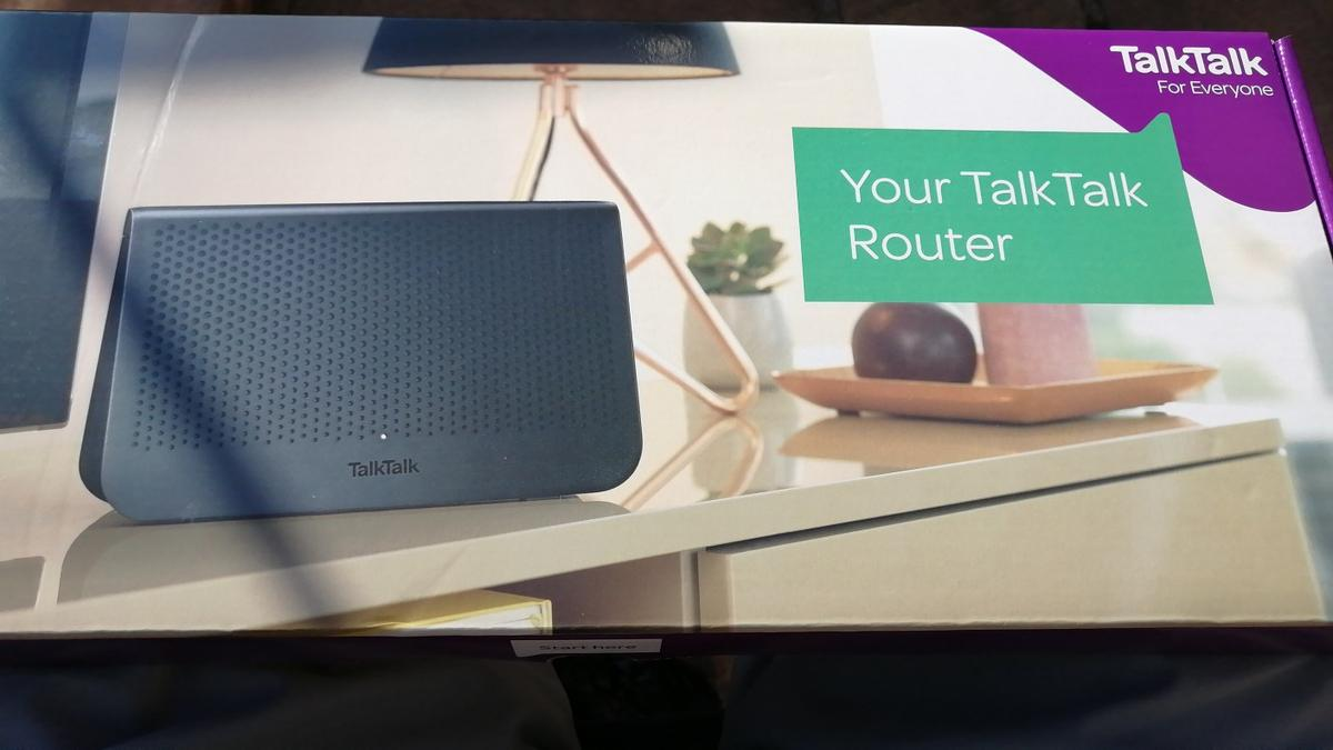 Upgrade your talk talk router. Brand new £20