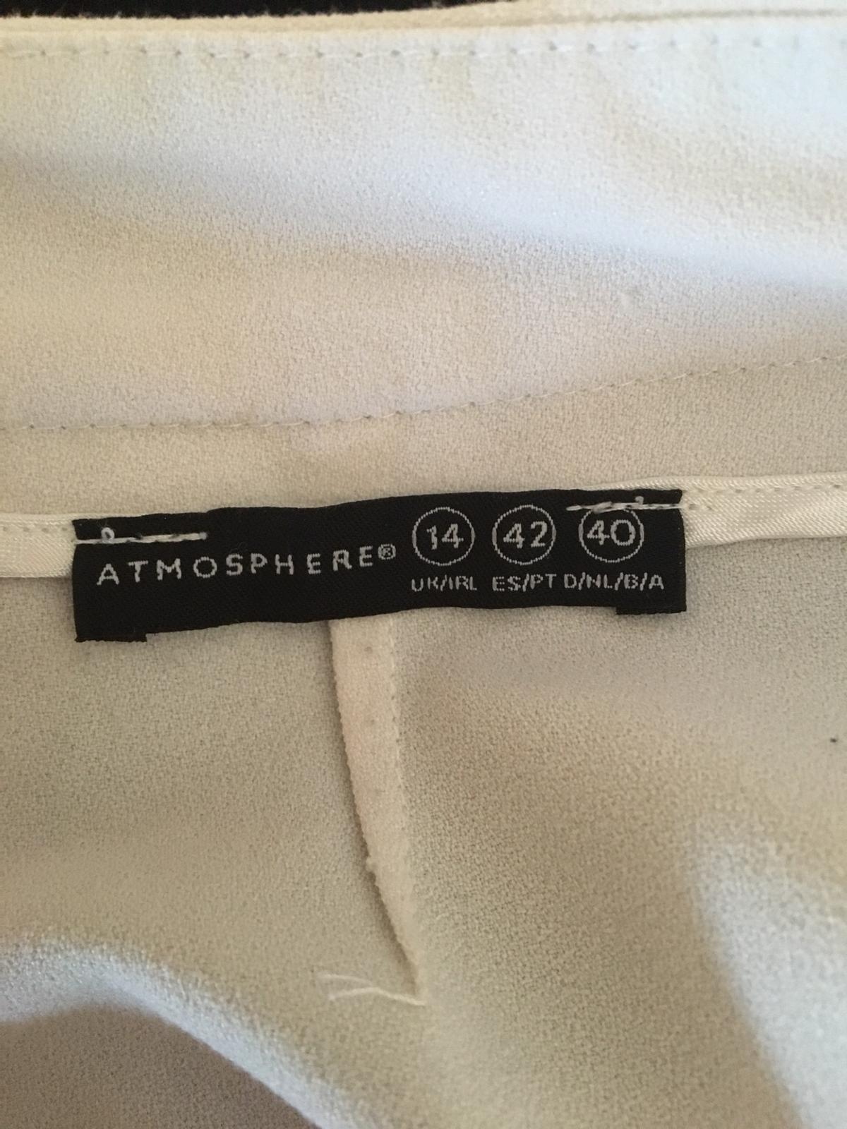 Ladies Atmosphere hot pants/shorts. Very good condition. Size 14. Royal Mail delivery only or delivery