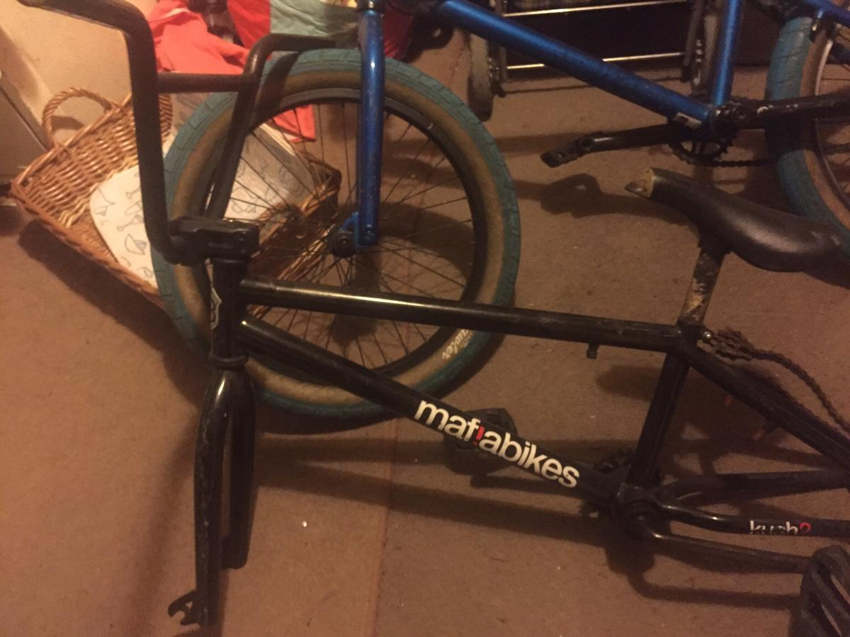 Blue bike is a we the people curse and other is a mafia