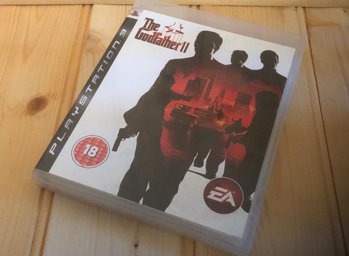 The Godfather II, PS3, used, collection WS10