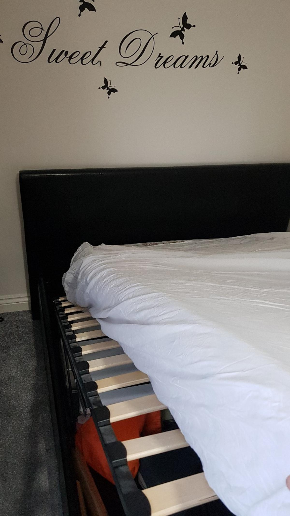 ottoman double bed with storage under . in very good condition ,used only couple of times.