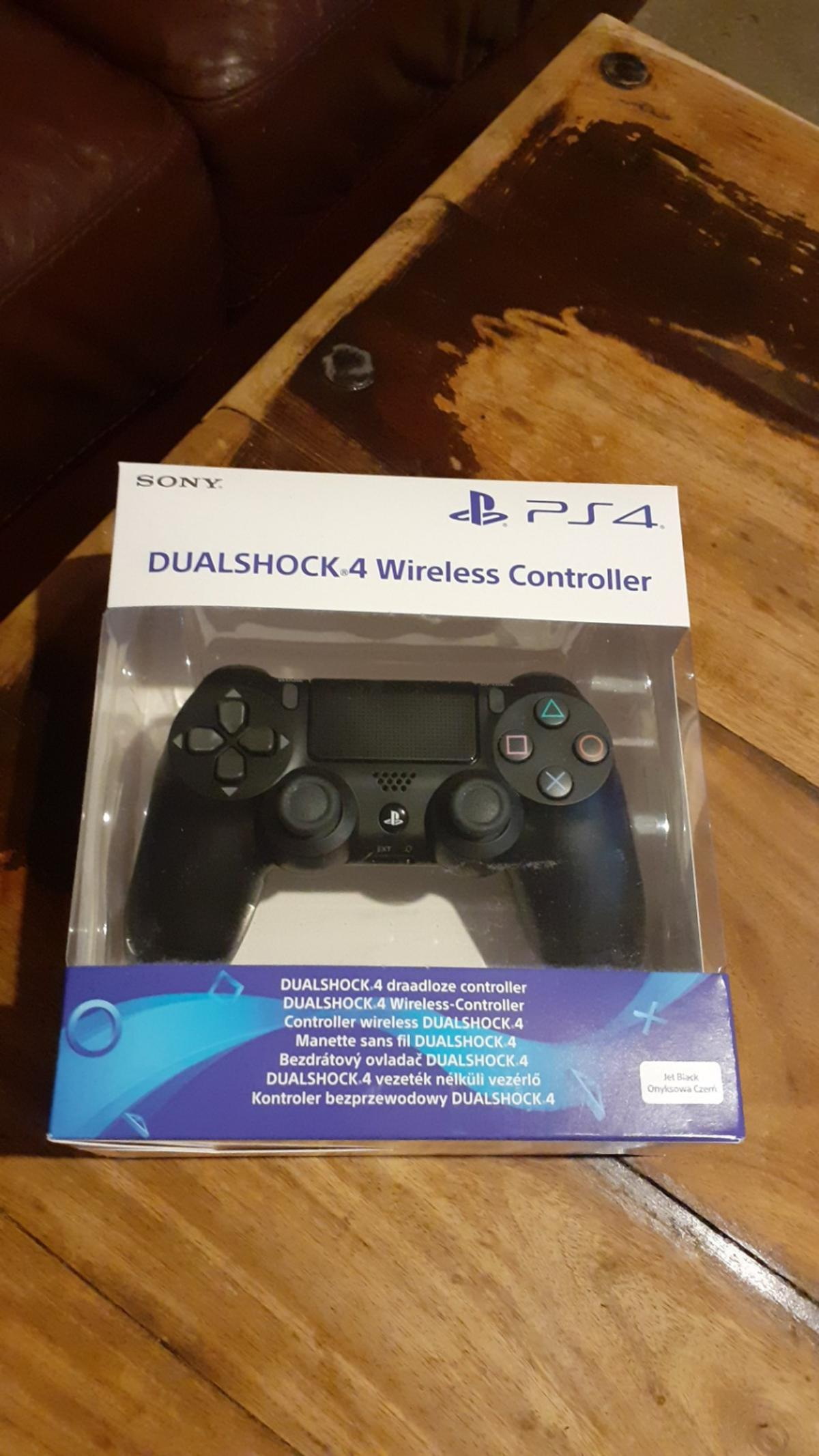brand new box still sealed ps4 dualshock 4 wireless controller collection welwyn garden City