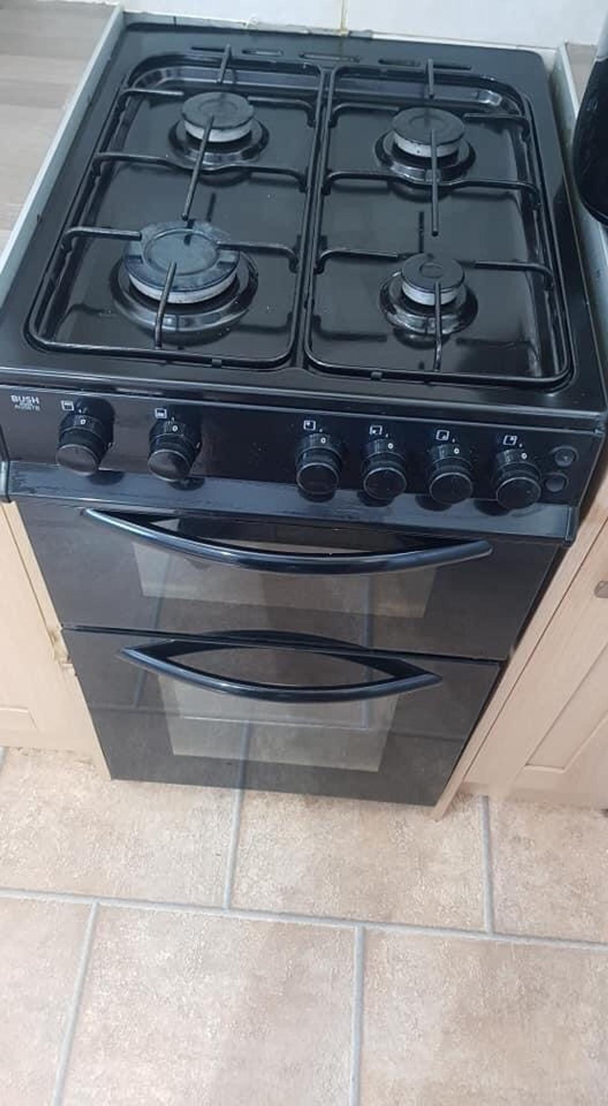 Bush gas cooker for sale 13 months old Clean brilliant condition It does need a new rubber seal around door