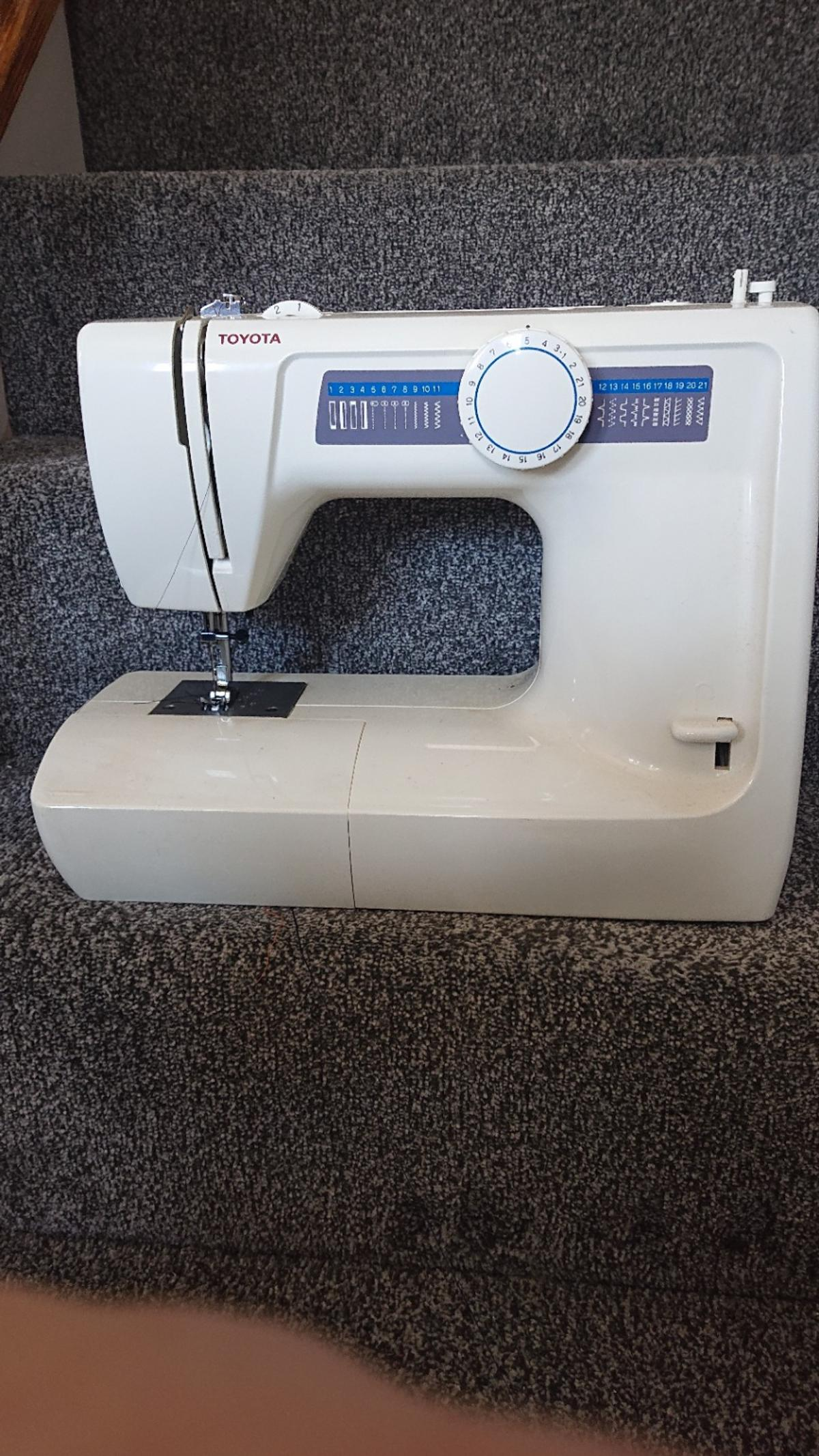 Used sewing machine in good condition collect only