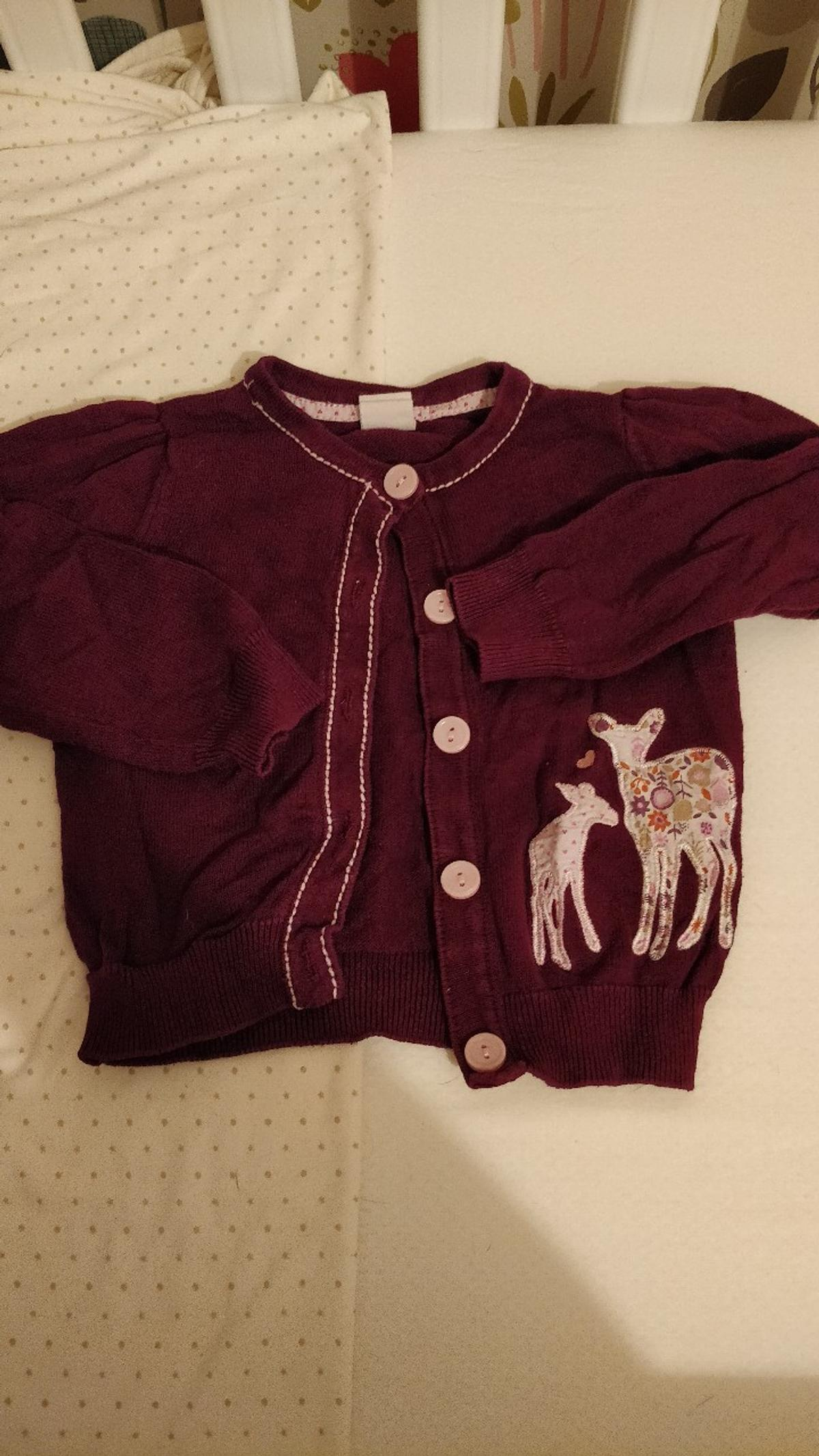Cardigan from H&M in size 9-12m Good condition, no rips or stains. From a smoke free home.