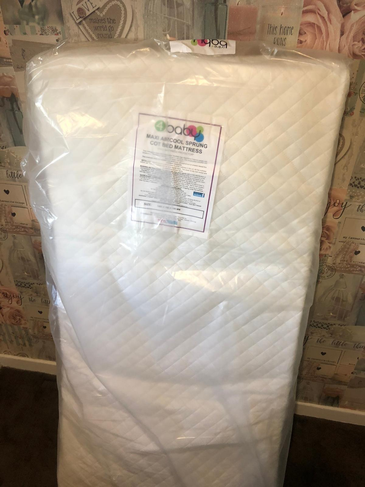 Brand new sealed Cot mattress cost £45 Dimensions 1400 x 700 x 125mm Mrs ordered the wrong size so just happy with money back for it. Collection or Can deliver locally.. social distancing applies. Will also sanitise the packaging! £45 ovno Thanks