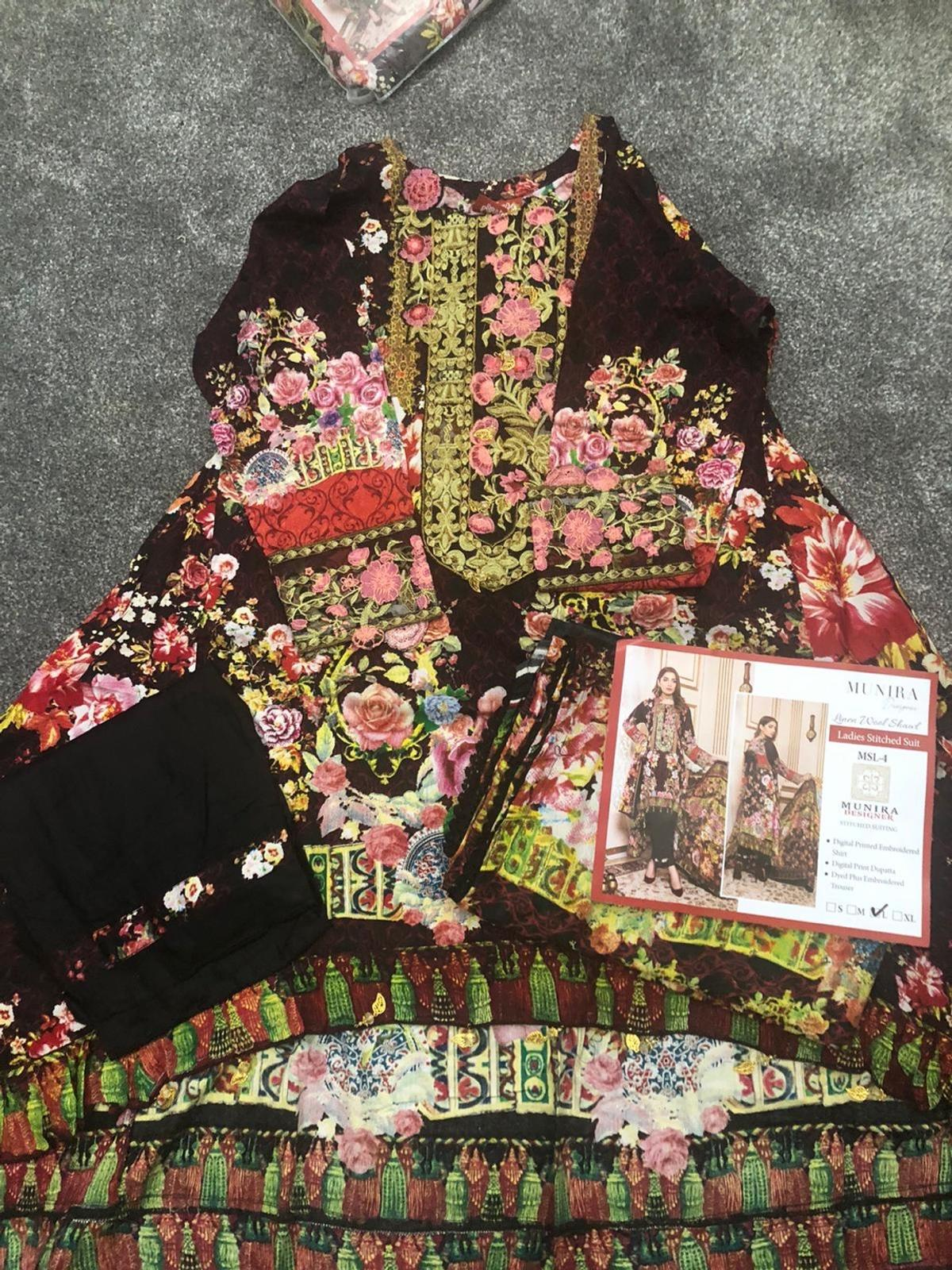 💥SALE...SALE...SALE💥  Various branded designer clothes available in Large size and many more sizes. Fancy Embroidered designer airline dresses.  Delivery available at a radius of 15 miles, P&P fees may apply. For more information you can call, WhatsApp, email or drop a text will be happy to help.  Happy Shopping.