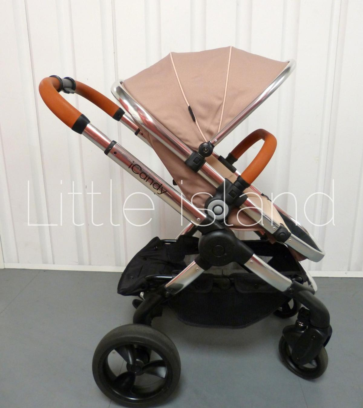 Collection From M34 Manchester  Pram was professionally cleaned and it's in great used condition  FROM PET AND SMOKE FREE HOUSE  PUSHCHAIR: * Frame * Wheels * Hood * Main seat * Bumper bar * Shopping basket  CARRYCOT: * Apron * Mattress * Linning * Raincover  Maxi Cosi Car Seat * sun canopy * head huger * newborn cushion * shoulder pads * crotch pad