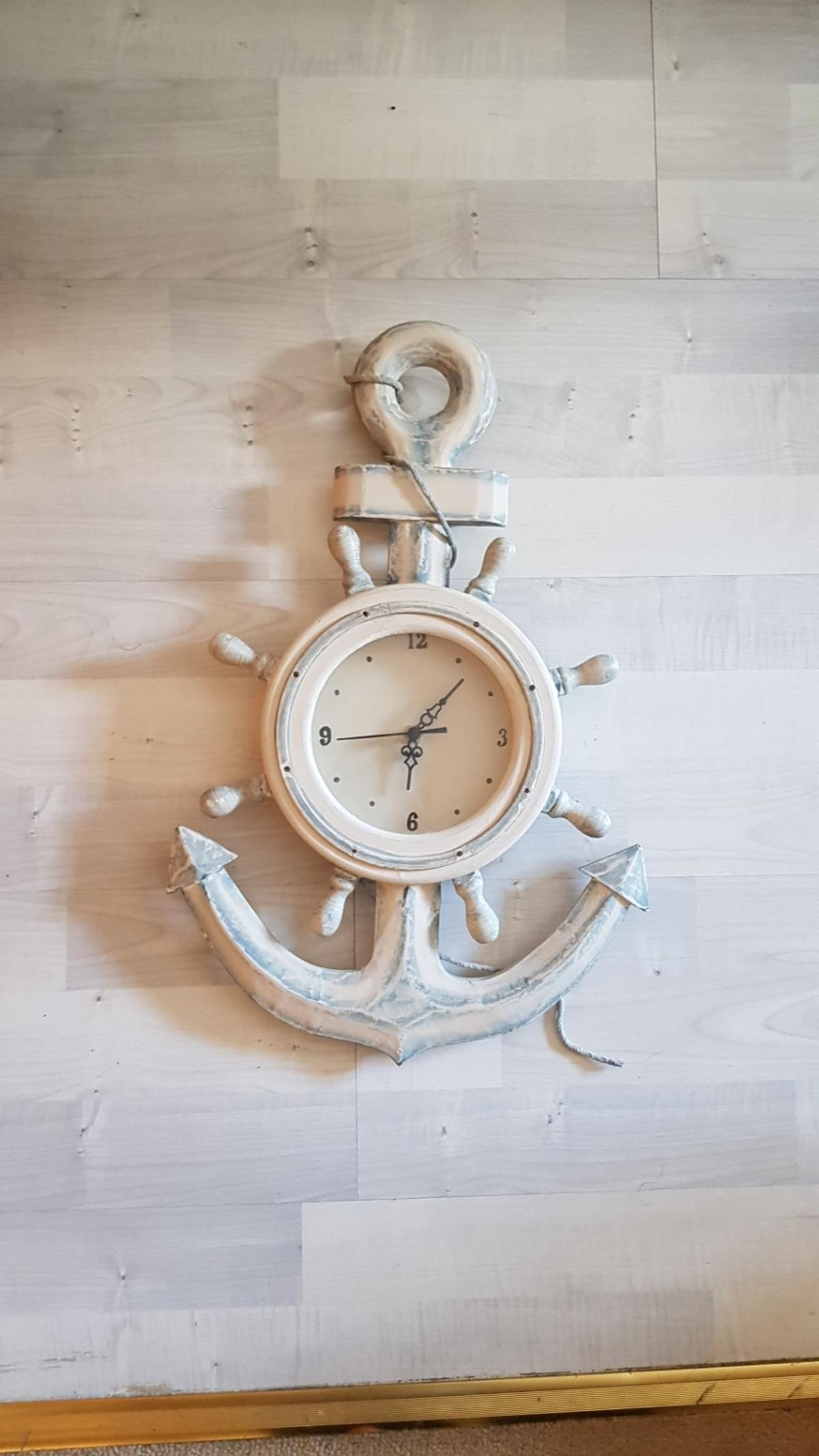 Was once used in a child's room whose theme was ships, under water and sailors.  Approximately 45cm by 30cm