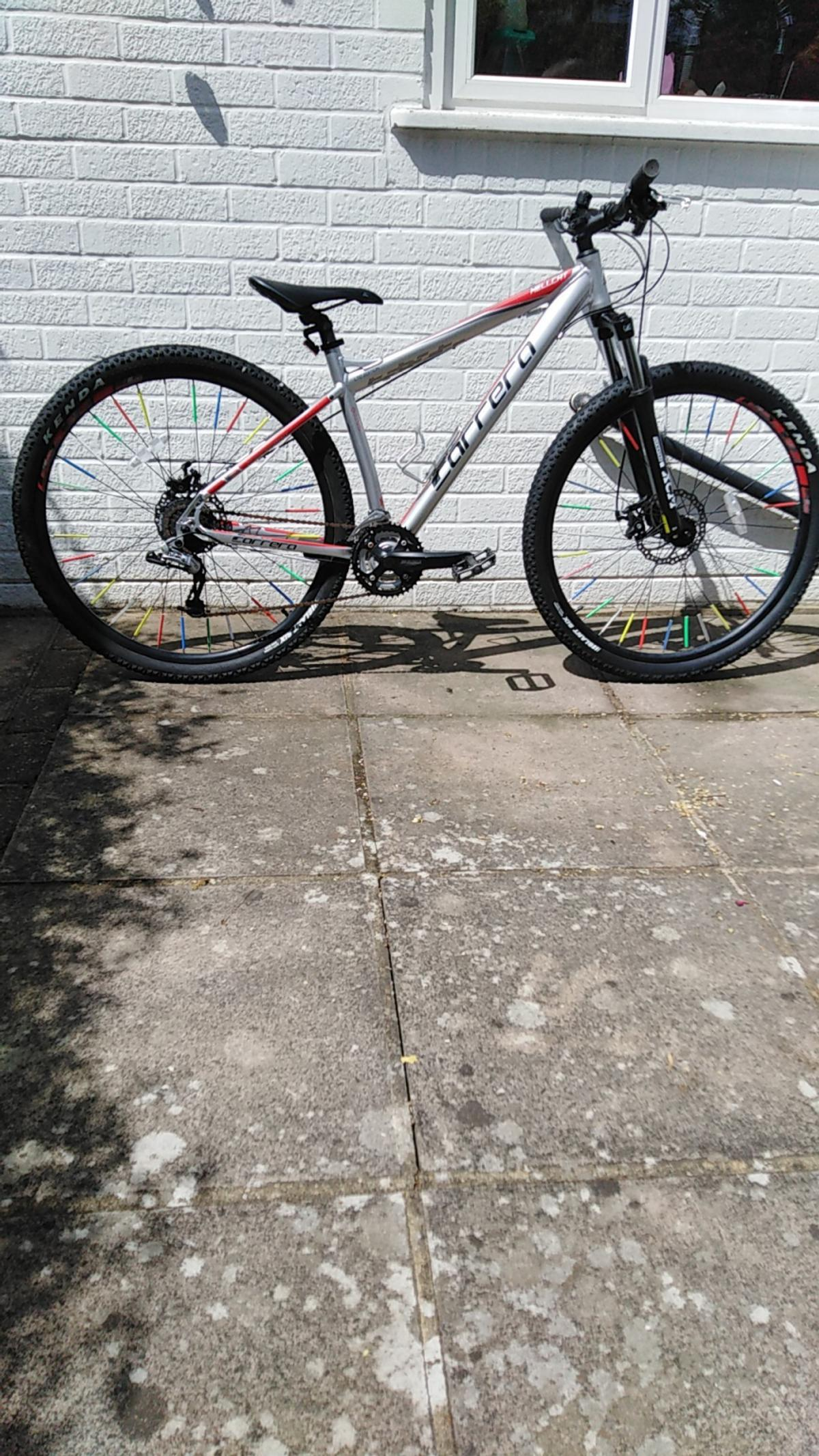 29 inch wheel 18 inch frame Carrera hellcat excellent condition very little use offers welcome cash only