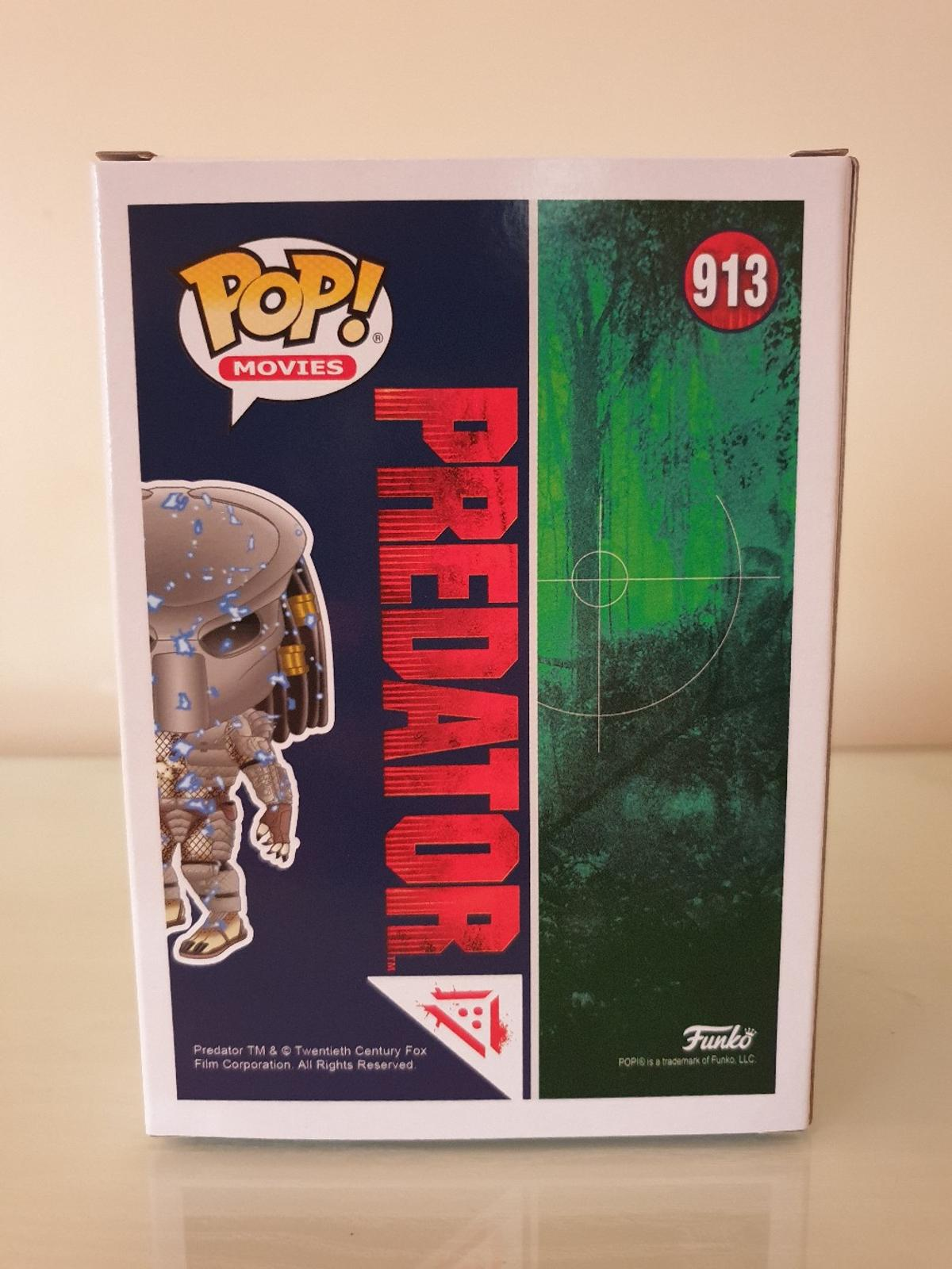 Exclusive Blue Armour Predator Funko Pop Vinyl #913.  £27.99  Loads more Pops available, check them out.