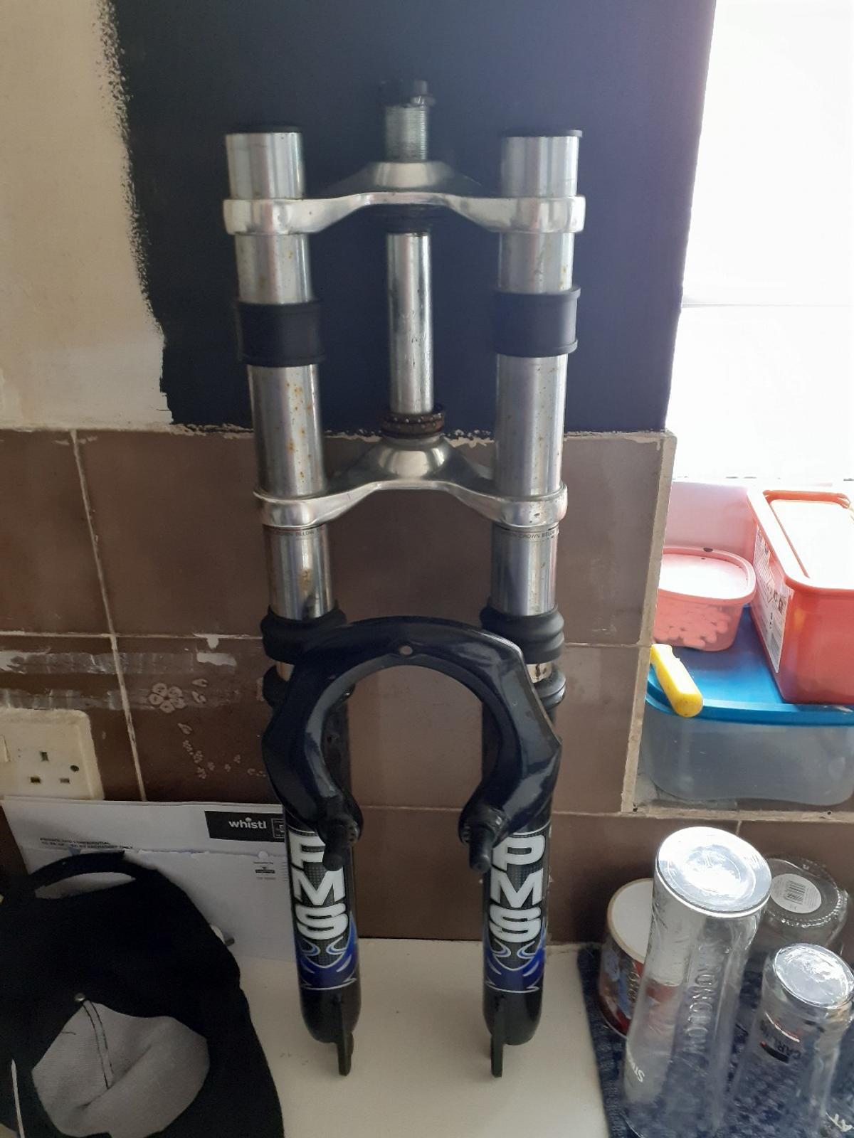 26-in mountain bike forks testing the weather in to see how much these are worth