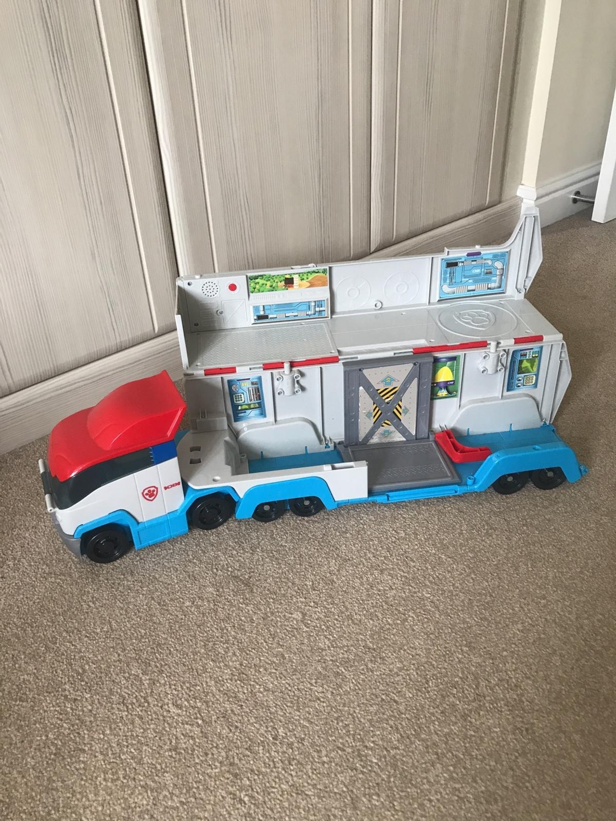 Paw Patroller in good condition ( 70cm long) No figures or cars included.