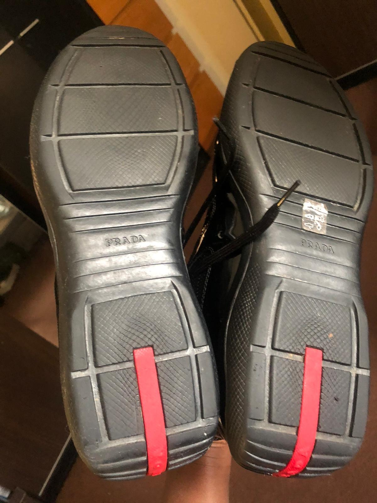 My beautiful pradas, size 10 but fit size 11 which I am by default. Kept in good condition. They are 100% authentic. I will include dust bag. Send offers, remember they are good condition and authentic so no unrealistic offers please