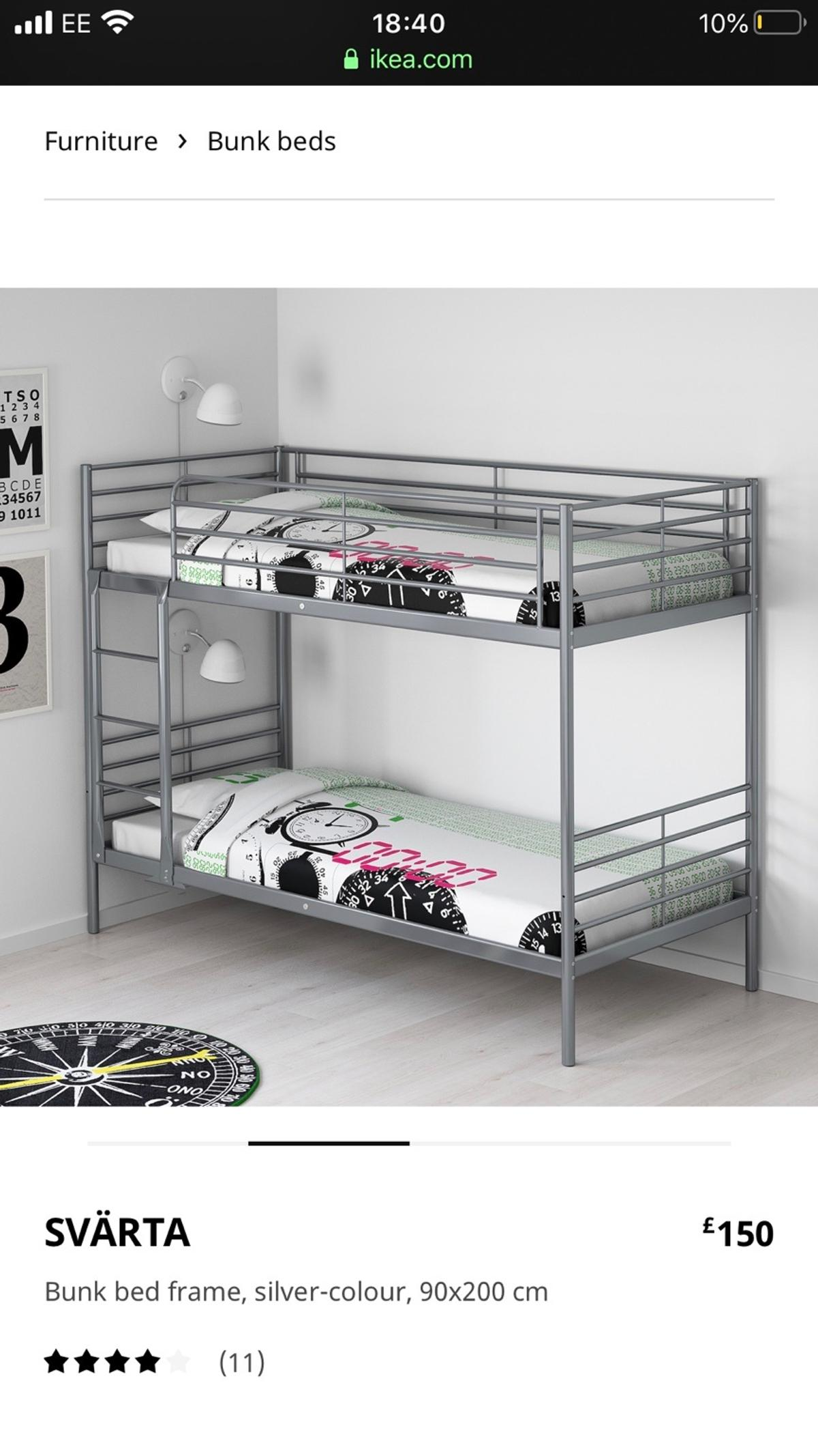 Ikea Metal Bunkbed X2 In Luton For 70 00 For Sale Shpock