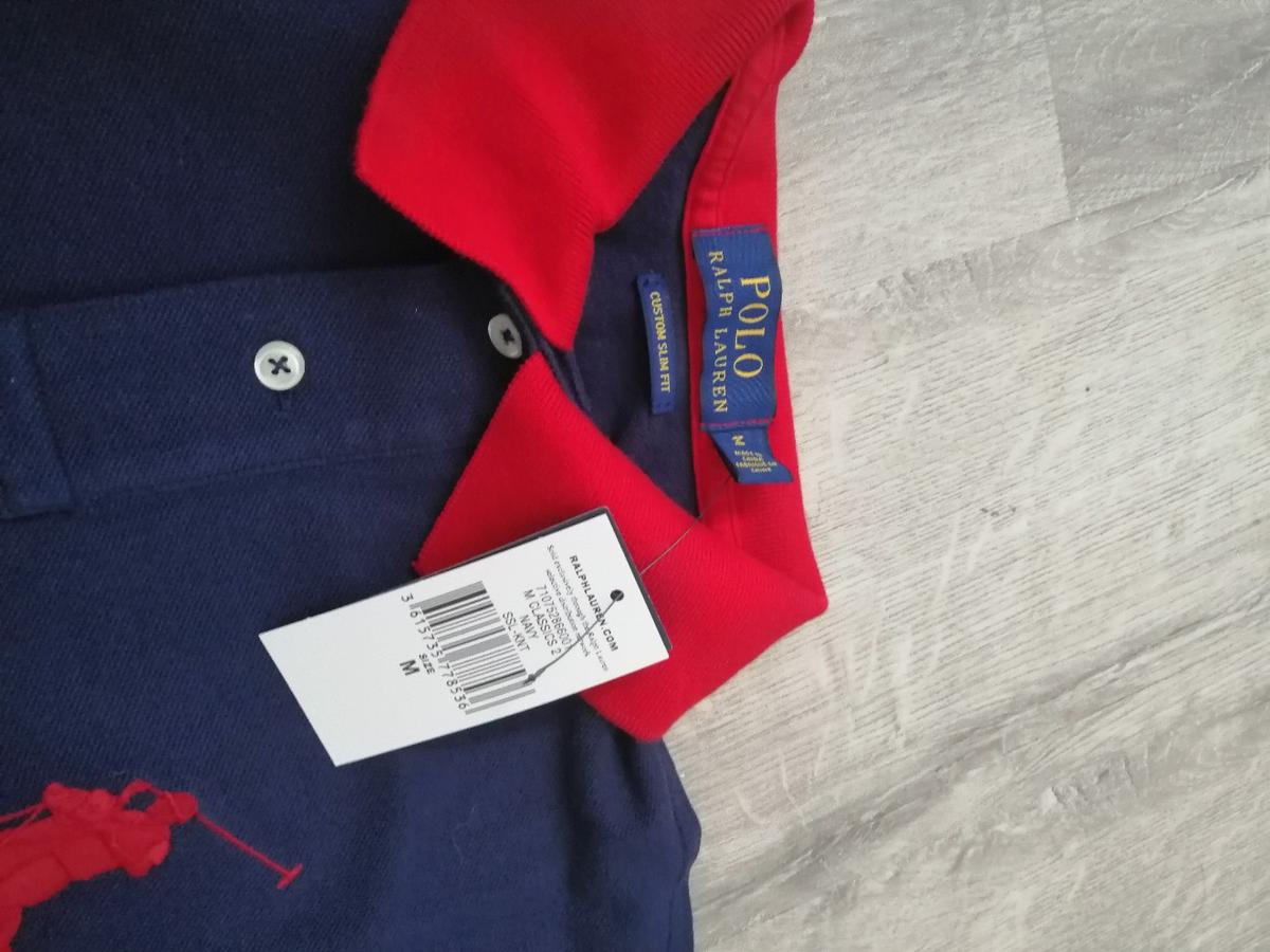 Bella balletto calendario  Ralph Lauren Big logo navy blue and red polo in Peterlee for £50.00 for  sale | Shpock