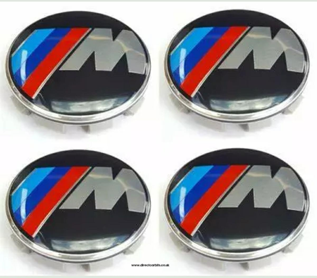4x Bmw M Sport Alloy Wheel Centre Caps In Ls11 Leeds For 12 00 For Sale Shpock