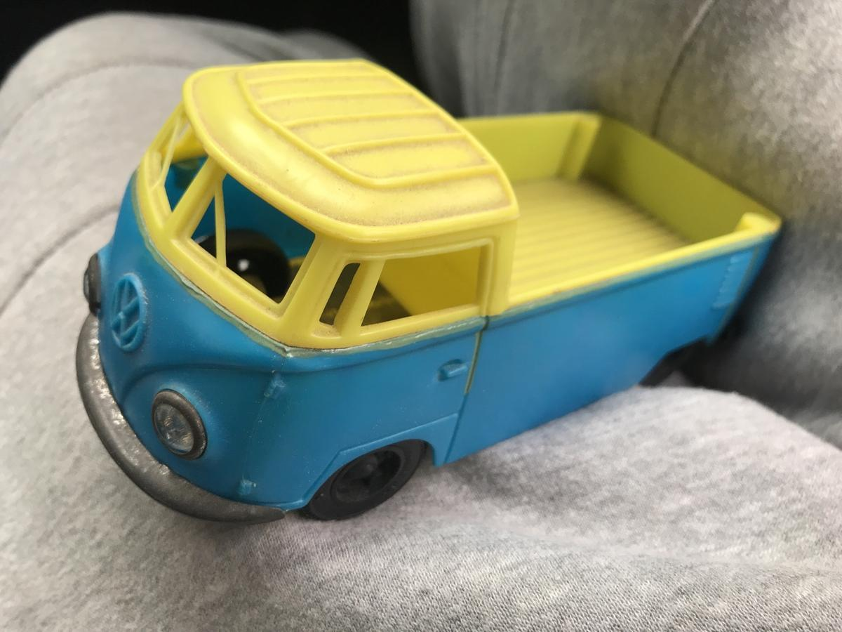 Old Vw Campervan Pickup Tin And Plastic Toy In B67 Sandwell For 10 00 For Sale Shpock