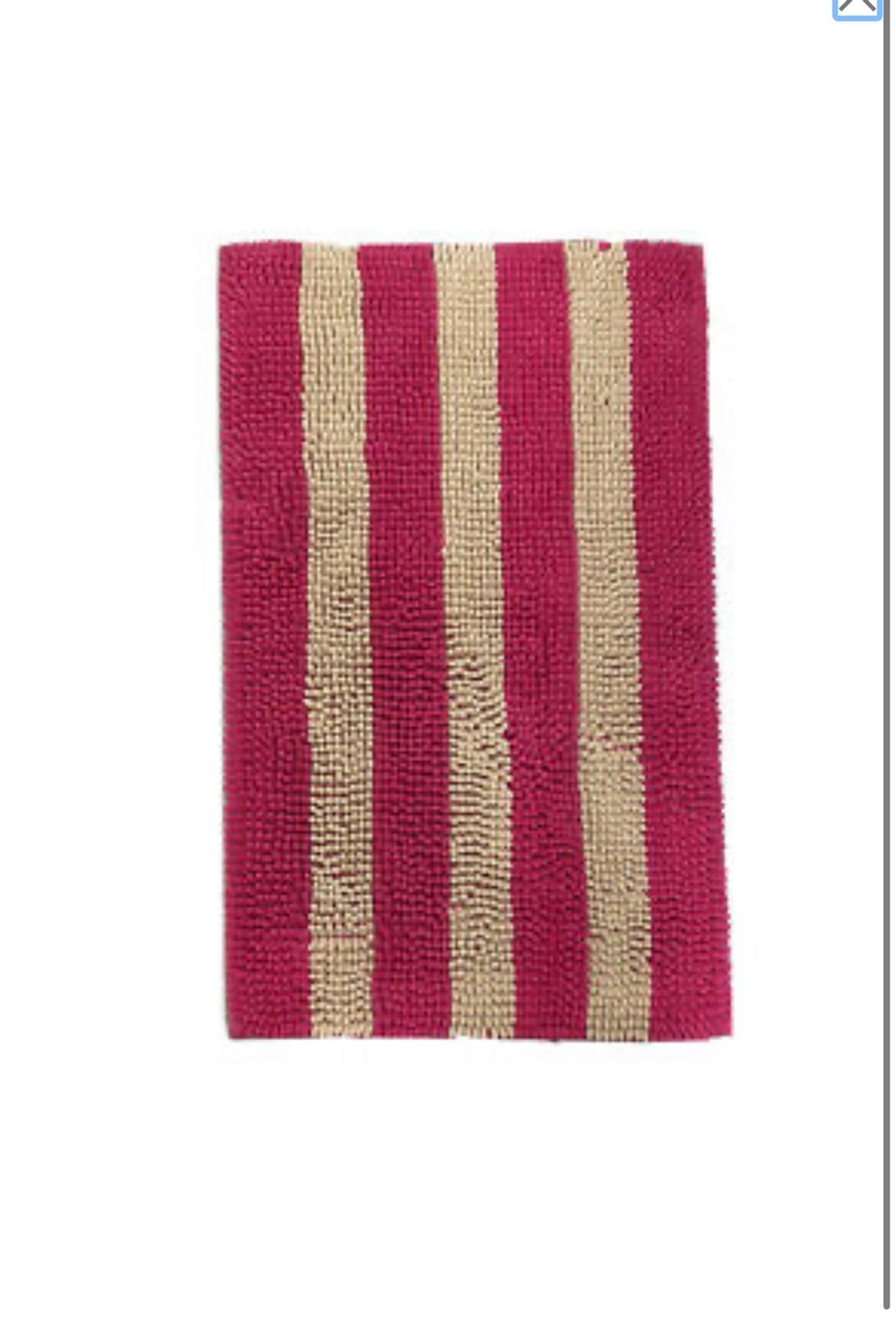 Two Tone Stripe Shaggy Loop Rug 50x80cms In E2 Hamlets For 10 00 For Sale Shpock