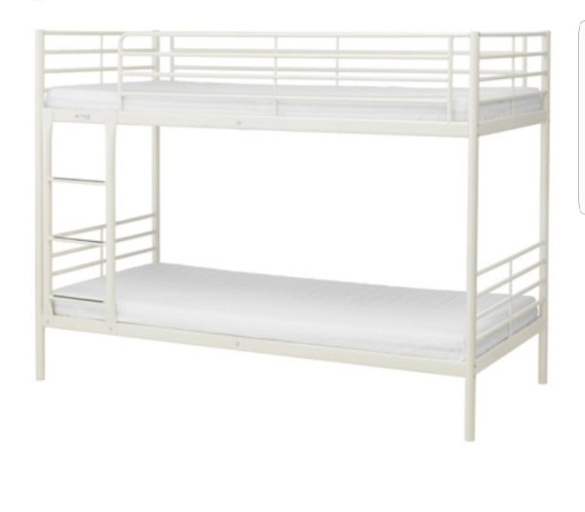 Picture of: Ikea Svarta Bunk Bed White In E7 London For 80 00 For Sale Shpock