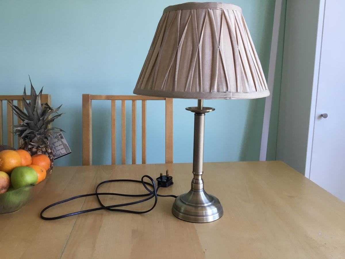 Antique Brass Table Lamp With Shade In E4 London Borough Of Waltham Forest For 15 00 For Sale Shpock