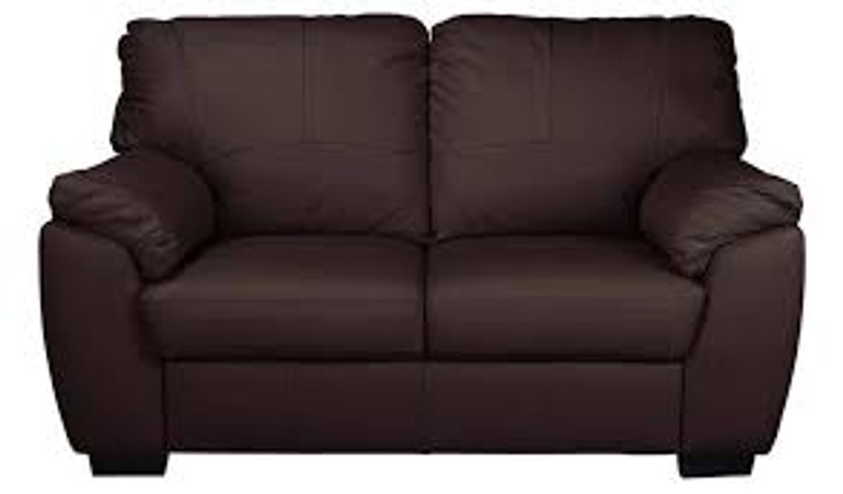 Picture of: Milano 2 Seater Leather Sofa Chocolate In Swindon For 240 00 For Sale Shpock