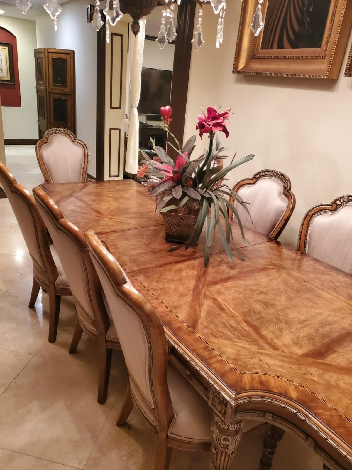 Dining Room Table With Chairs In 33498 Boca Raton For Us 1 800 00 For Sale Shpock