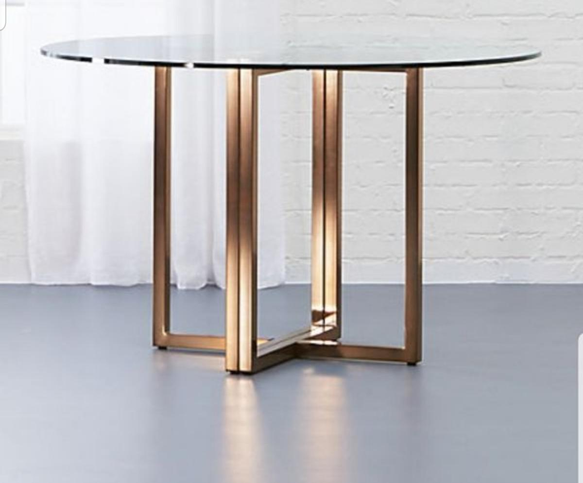 Cb2 2 Brass Plated Iron Base Only In 91304 Los Angeles For Us 89 00 For Sale Shpock