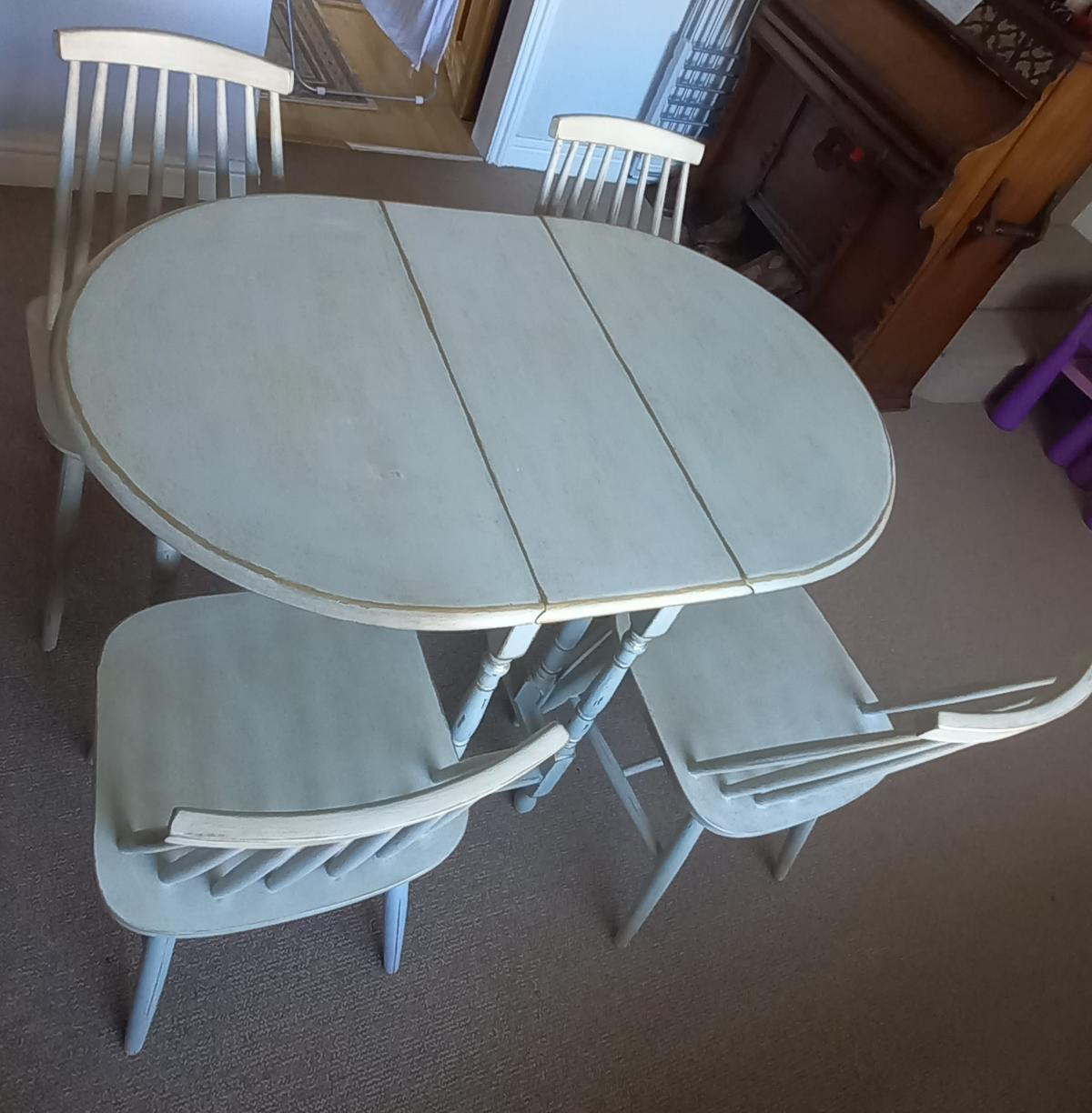 Donning Table And 4 Ercol Chairs In Nn8 Wellingborough For 90 00 For Sale Shpock