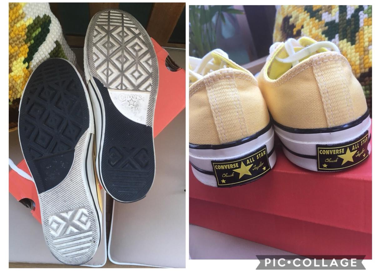 Converse All Star basse giallo nero yin yang in 43015 Noceto for ...